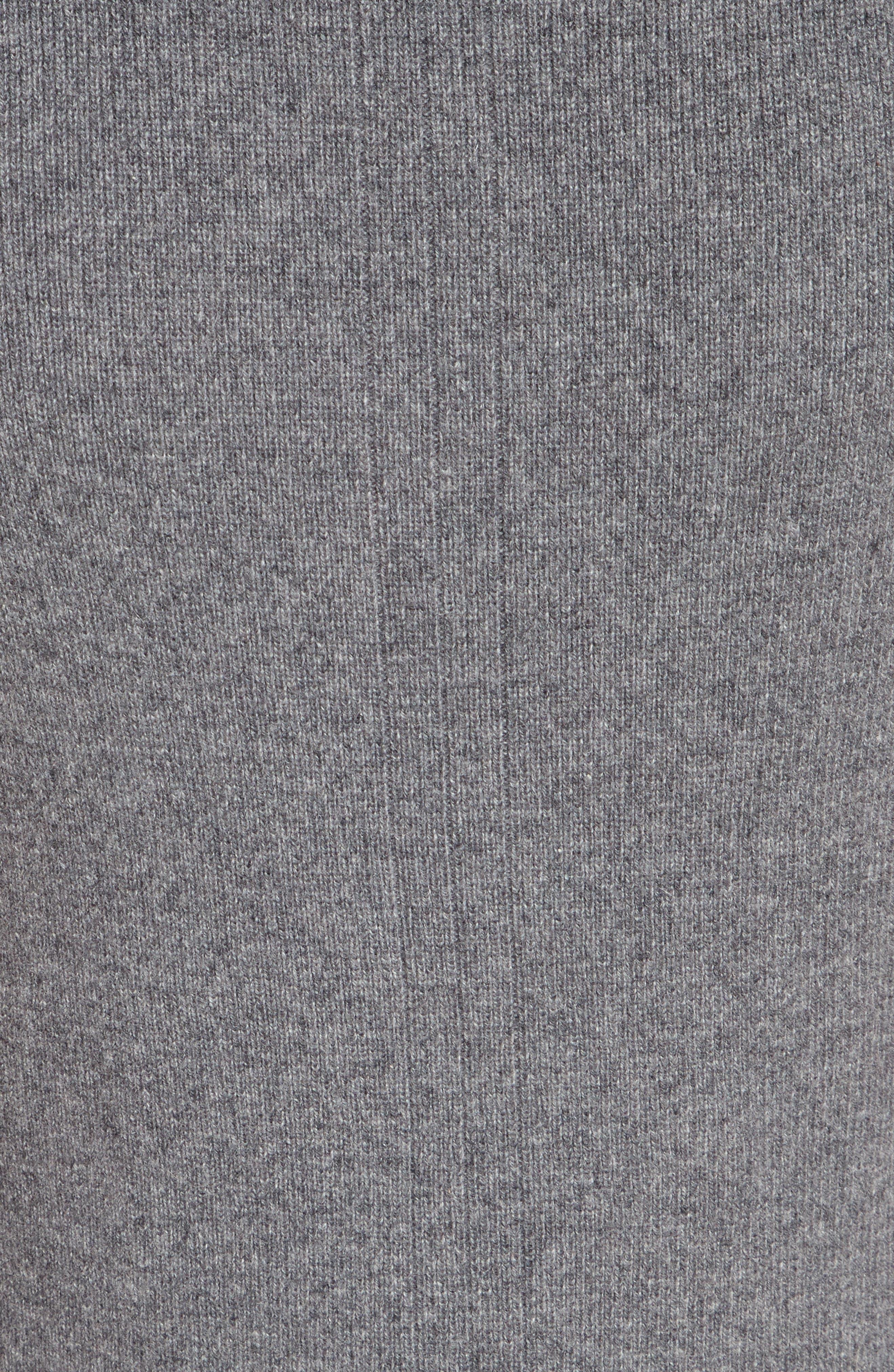 Ace Cashmere Mock Neck Sweater Dress,                             Alternate thumbnail 5, color,                             060