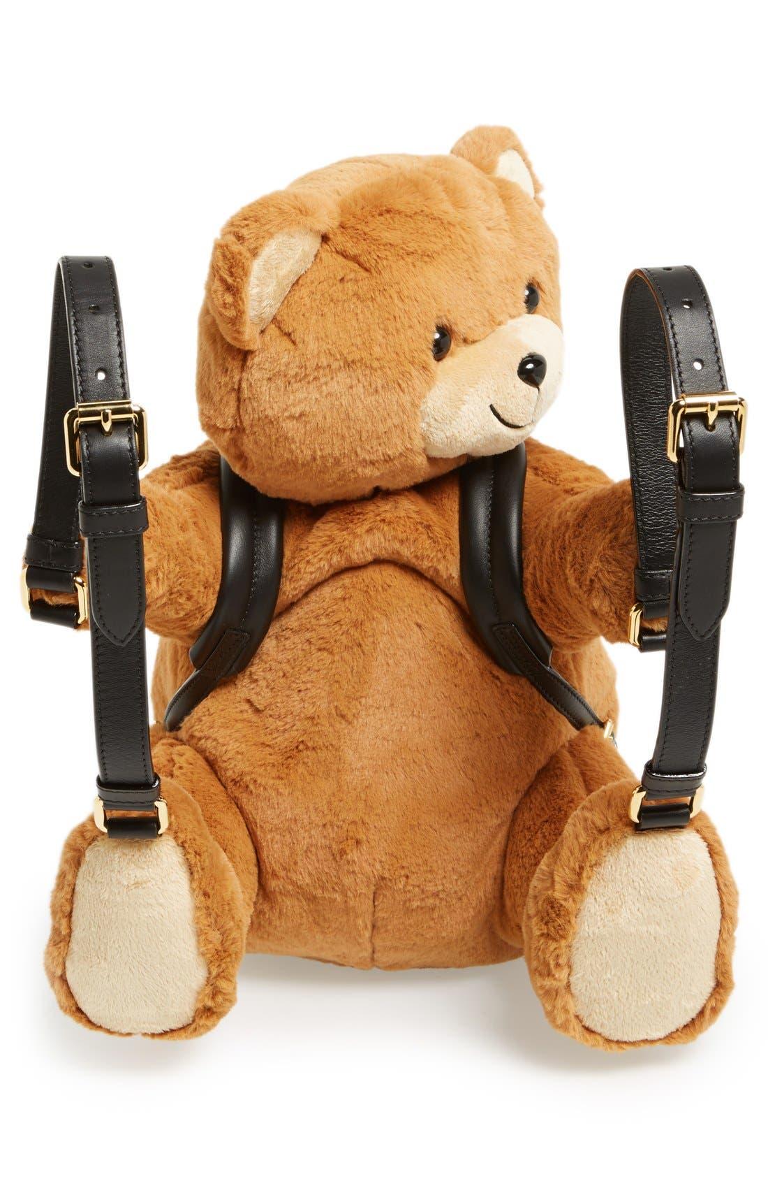 'Bear Hug' Backpack,                             Alternate thumbnail 4, color,                             200