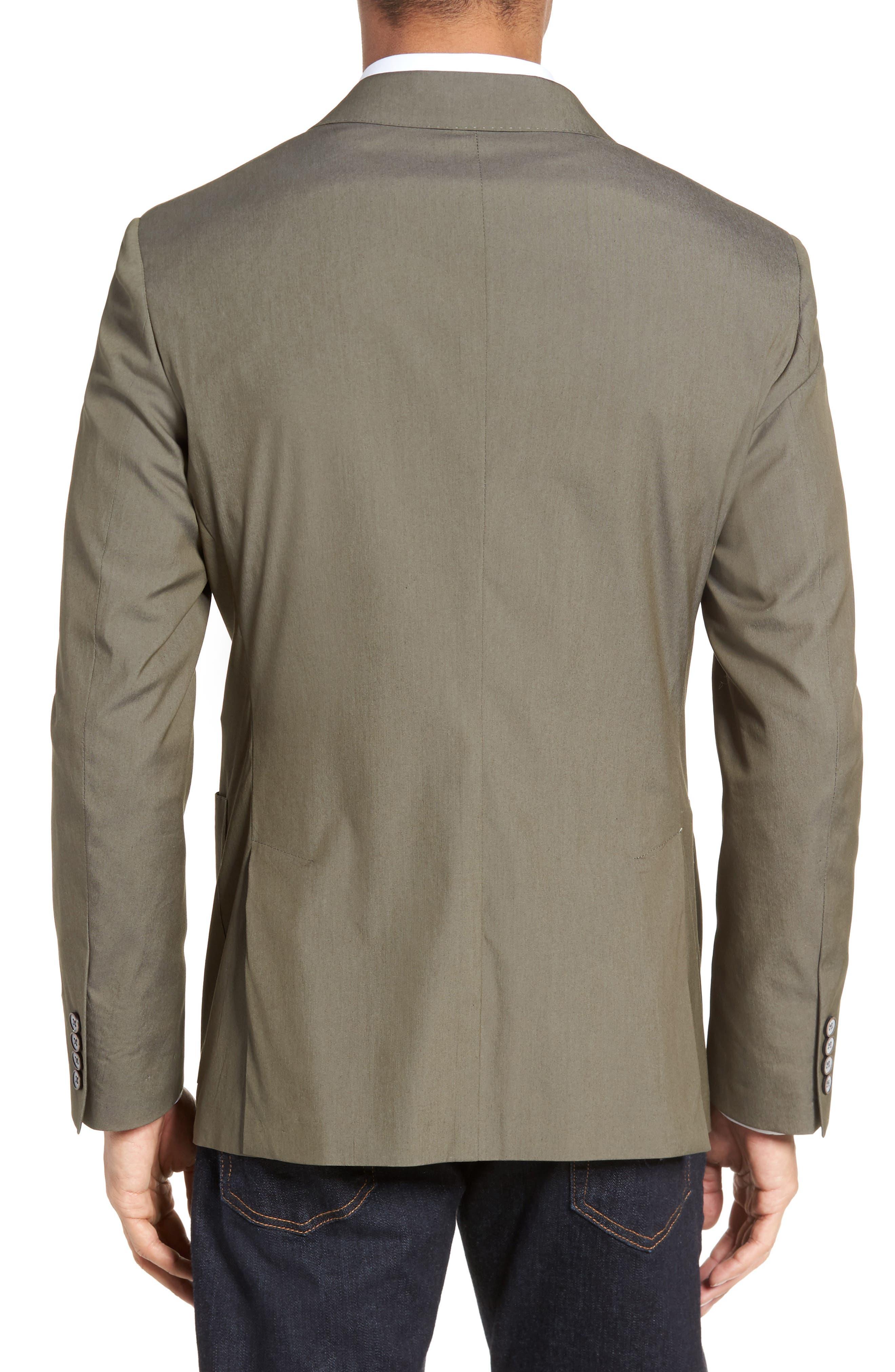 Modern Fit Stretch Cotton Blend Blazer,                             Alternate thumbnail 2, color,                             300