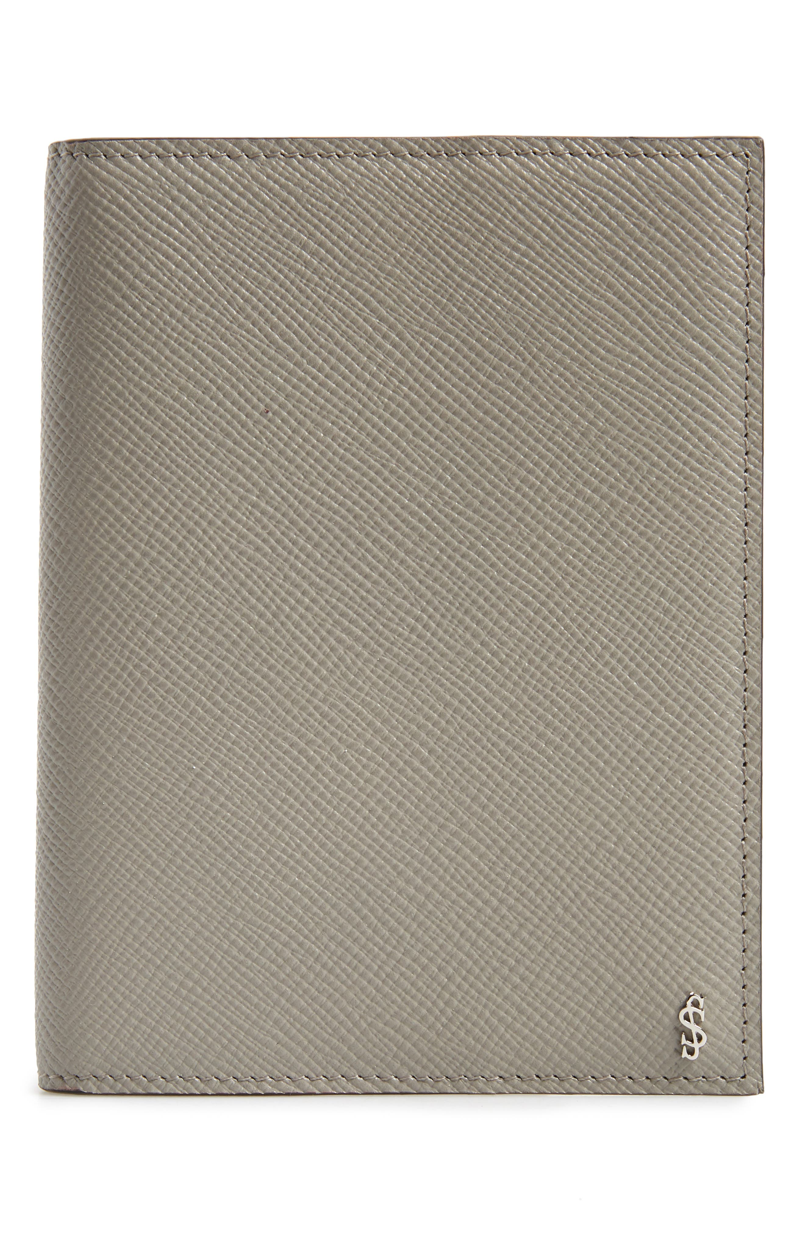 Evolution Leather Passport Case,                             Main thumbnail 1, color,                             020