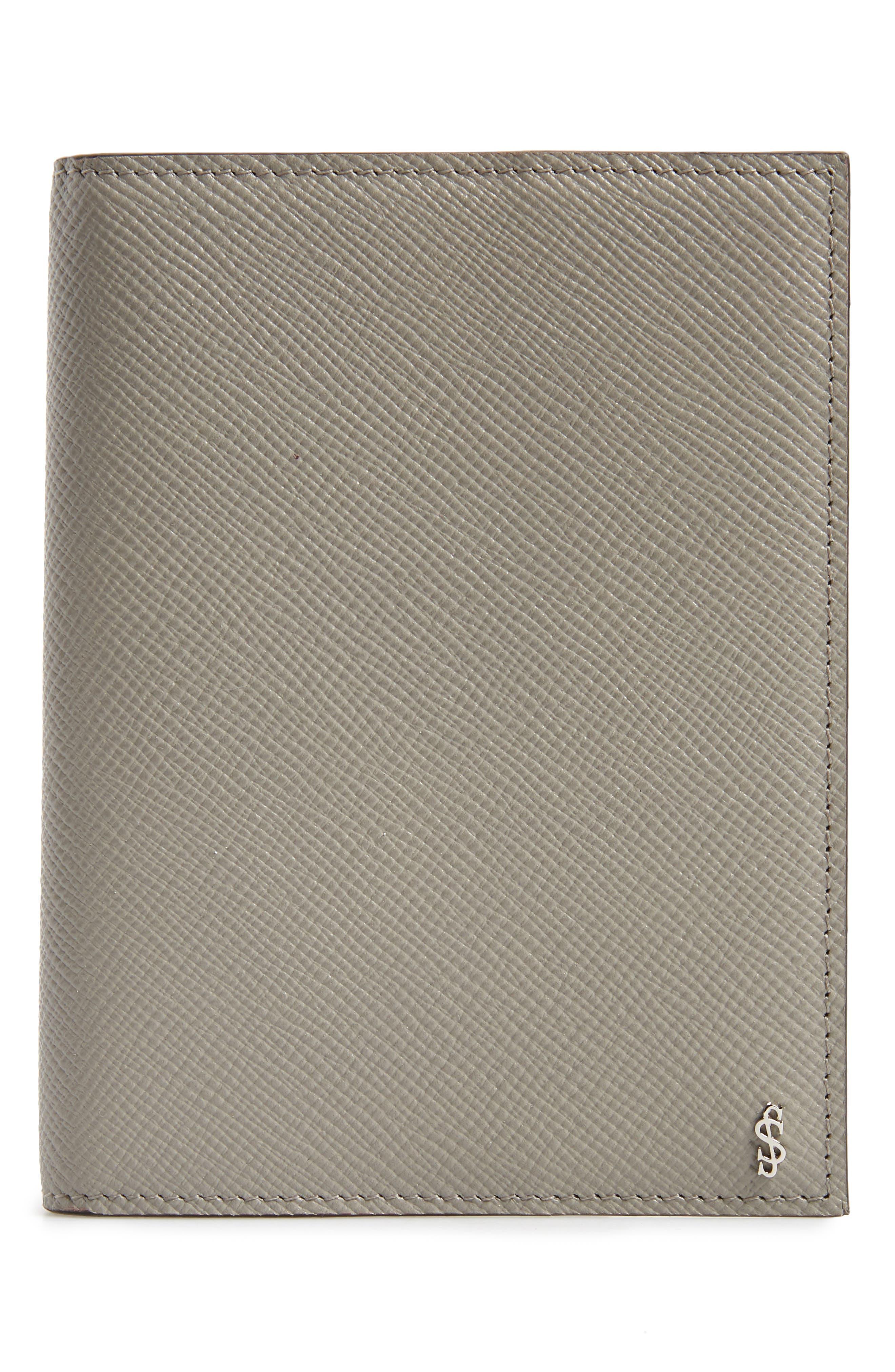 Evolution Leather Passport Case,                         Main,                         color, 020