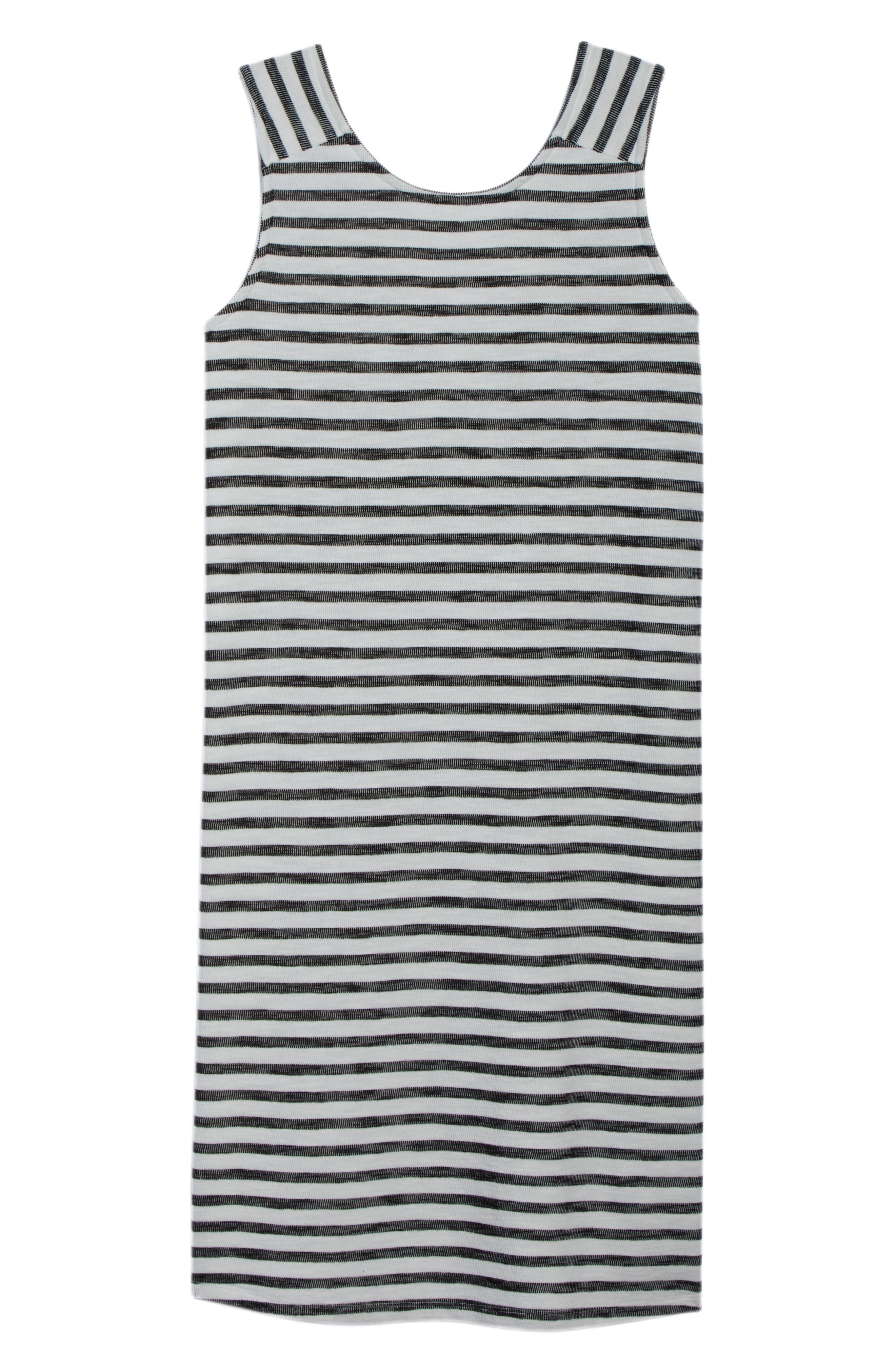 Button Back Knit Dress,                             Alternate thumbnail 7, color,                             901