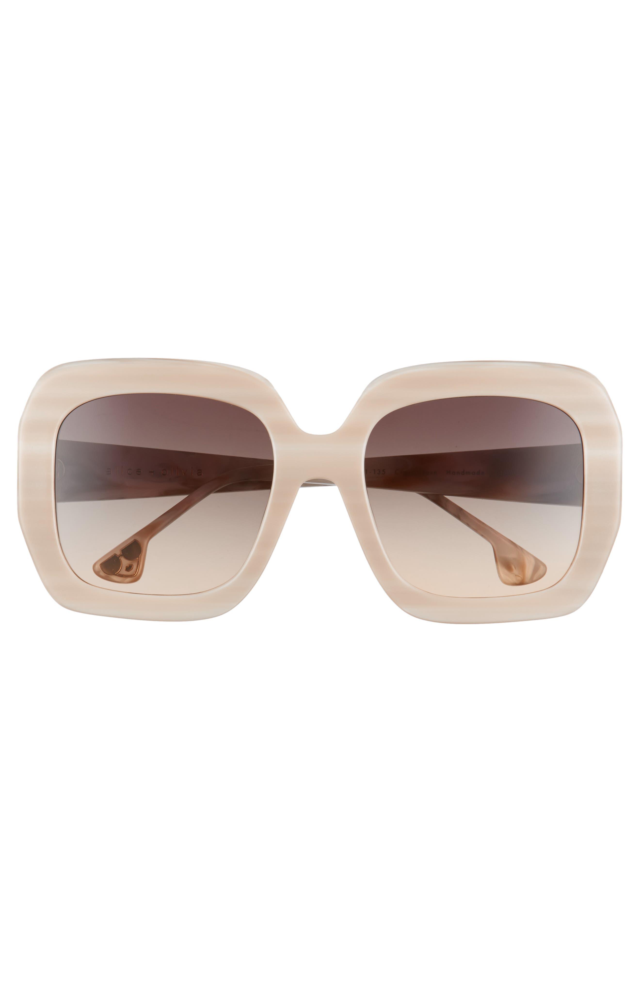 Lexington 55mm Square Sunglasses,                             Alternate thumbnail 9, color,