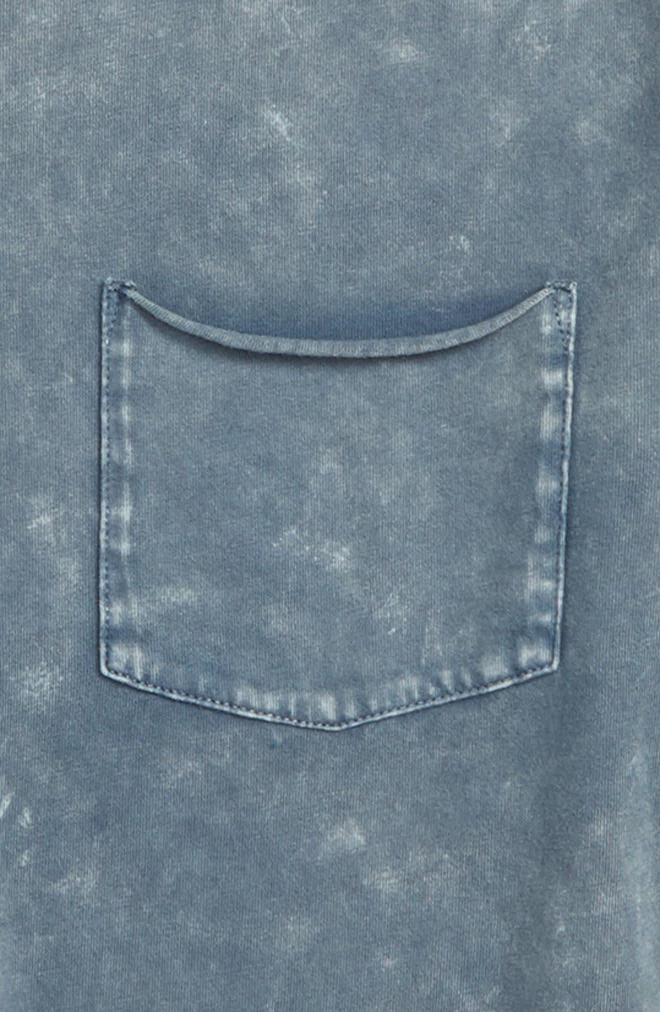Washed Long Sleeve T-Shirt,                             Alternate thumbnail 2, color,                             420