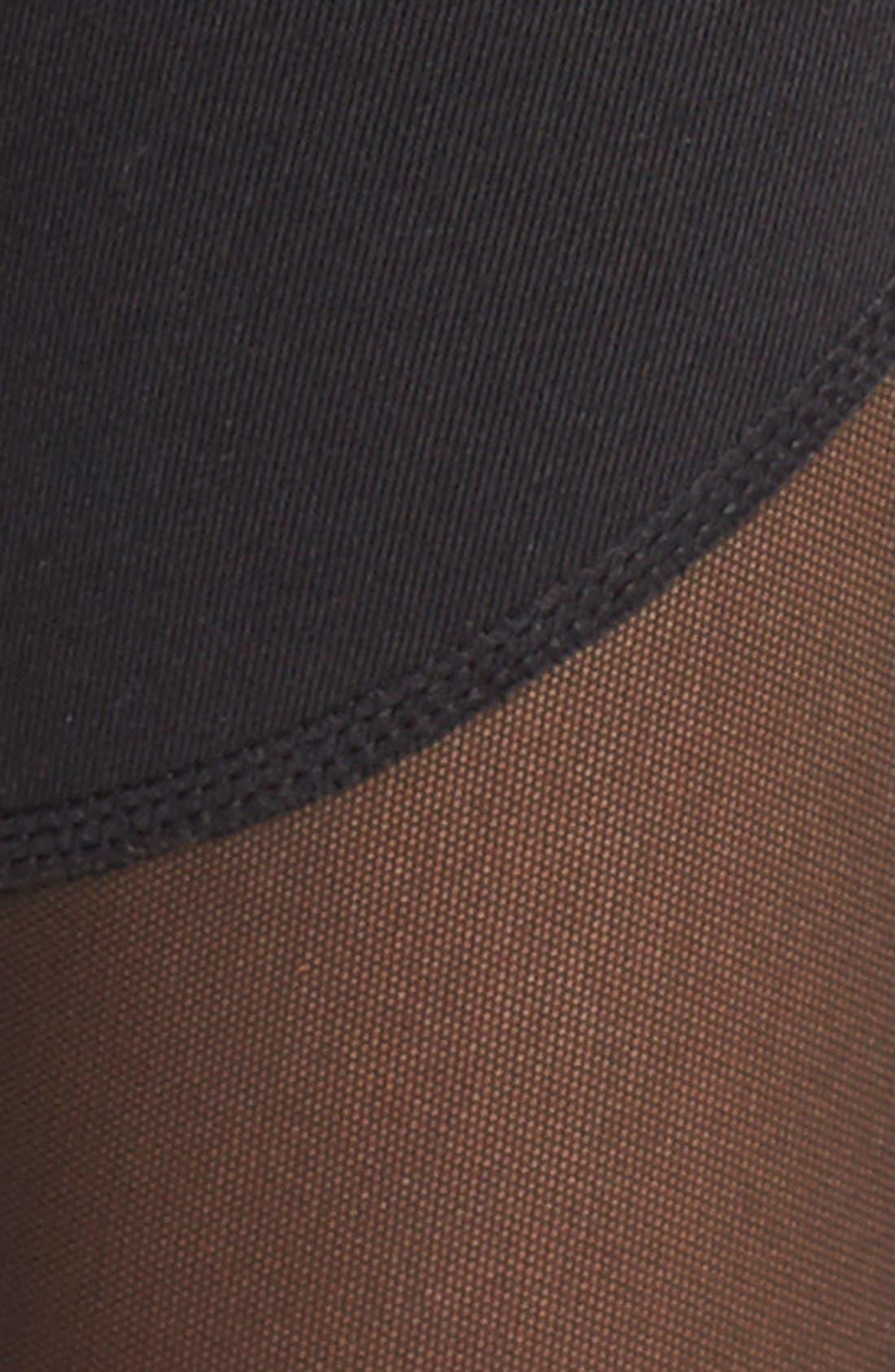 Coast High Waist Stirrup Leggings,                             Alternate thumbnail 7, color,                             BLACK