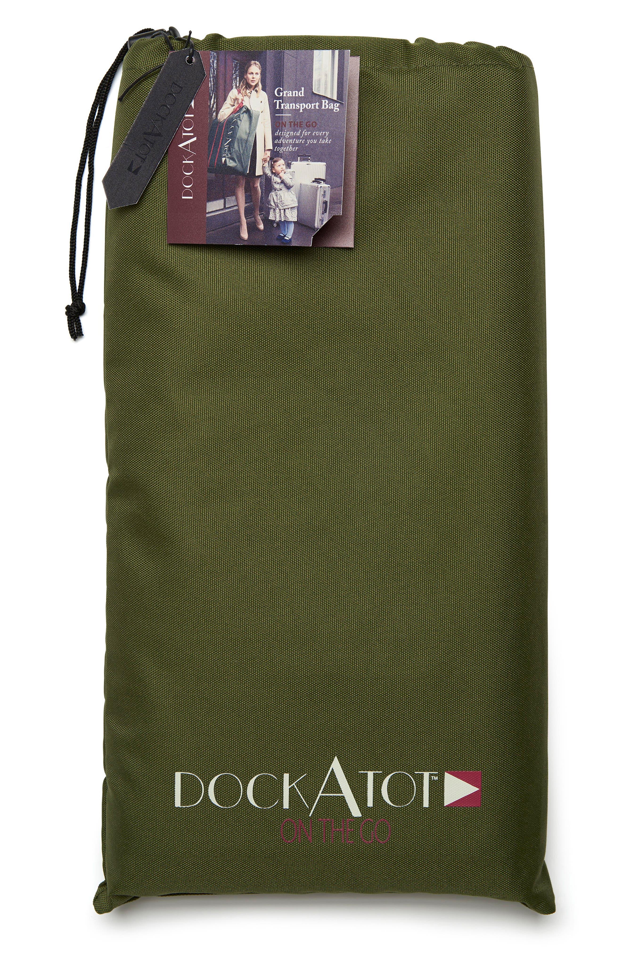 Grand Transport Bag,                             Alternate thumbnail 5, color,                             MOSS GREEN