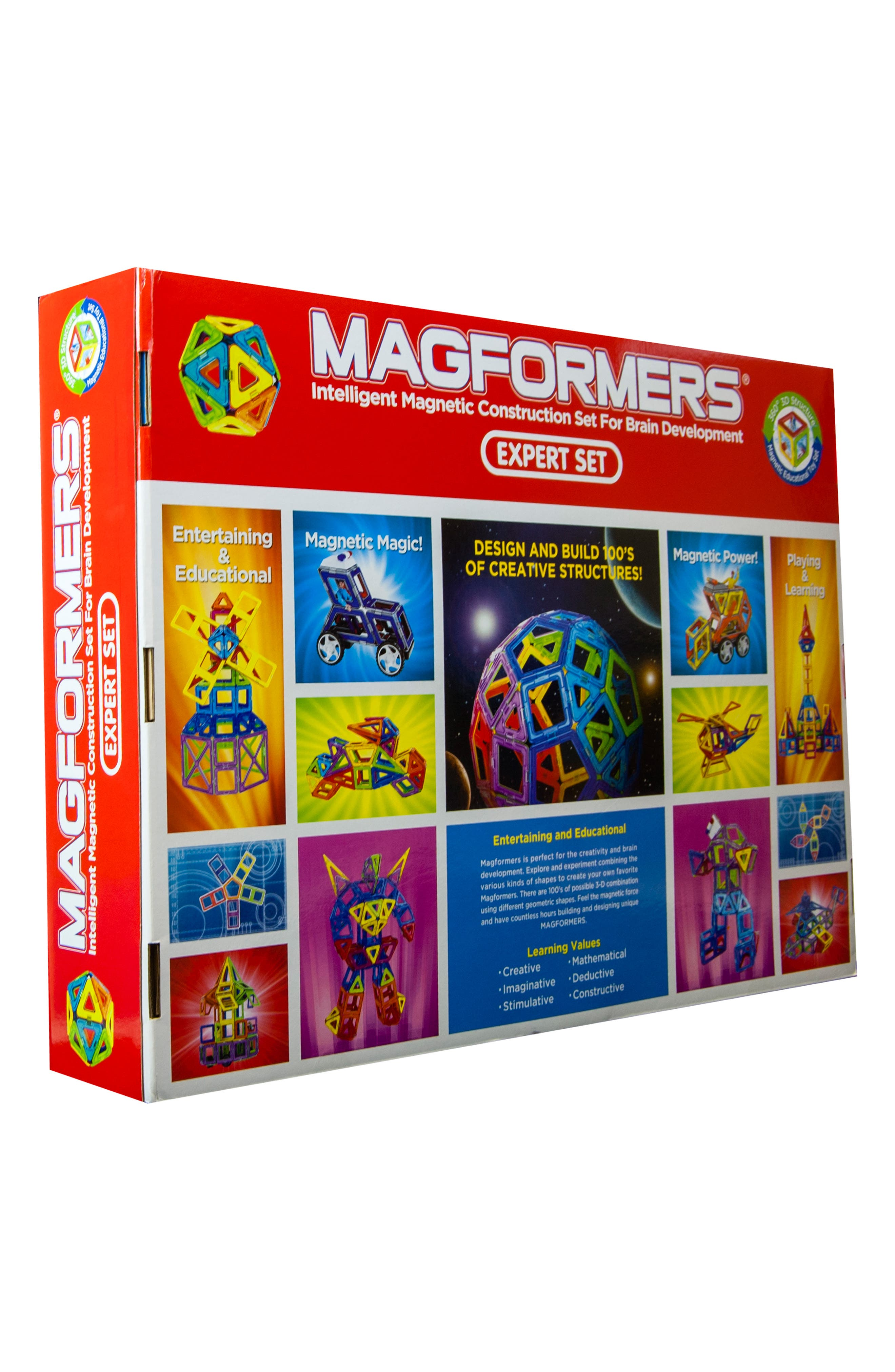 MAGFORMERS,                             'Expert' Construction Set,                             Alternate thumbnail 5, color,                             960