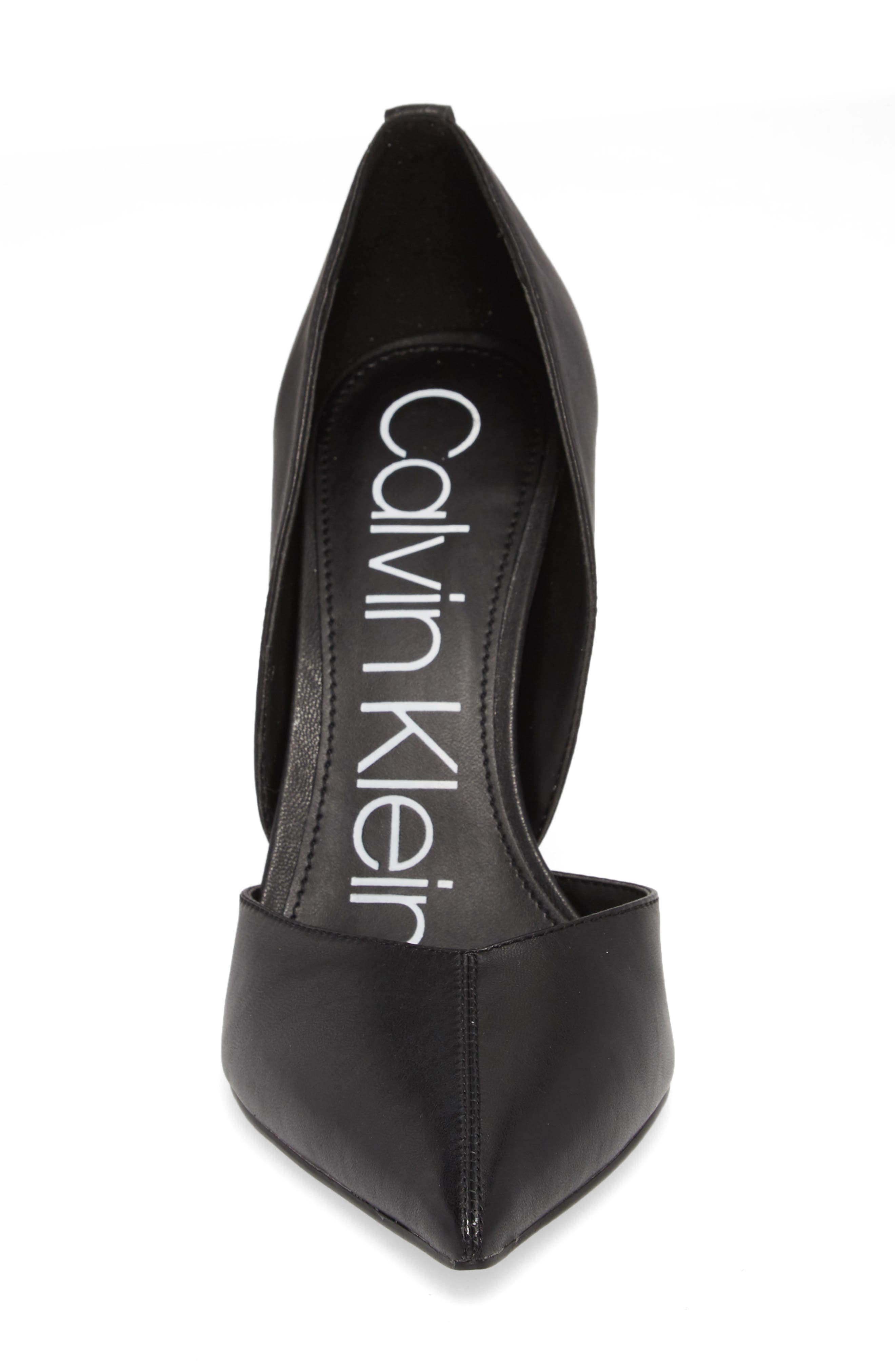 Marybeth d'Orsay Pump,                             Alternate thumbnail 4, color,                             001