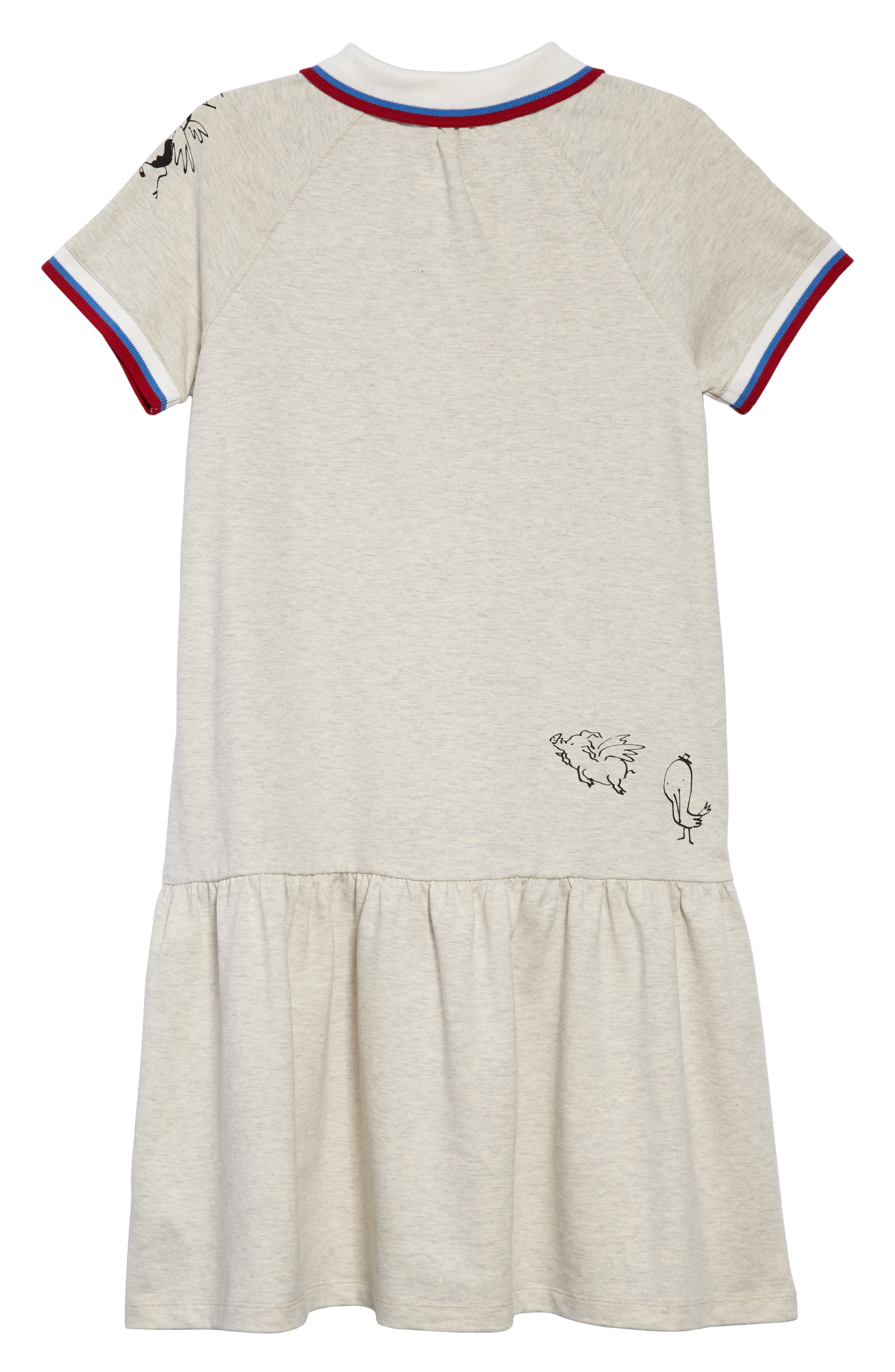Cali Polo Dress,                             Alternate thumbnail 2, color,                             100