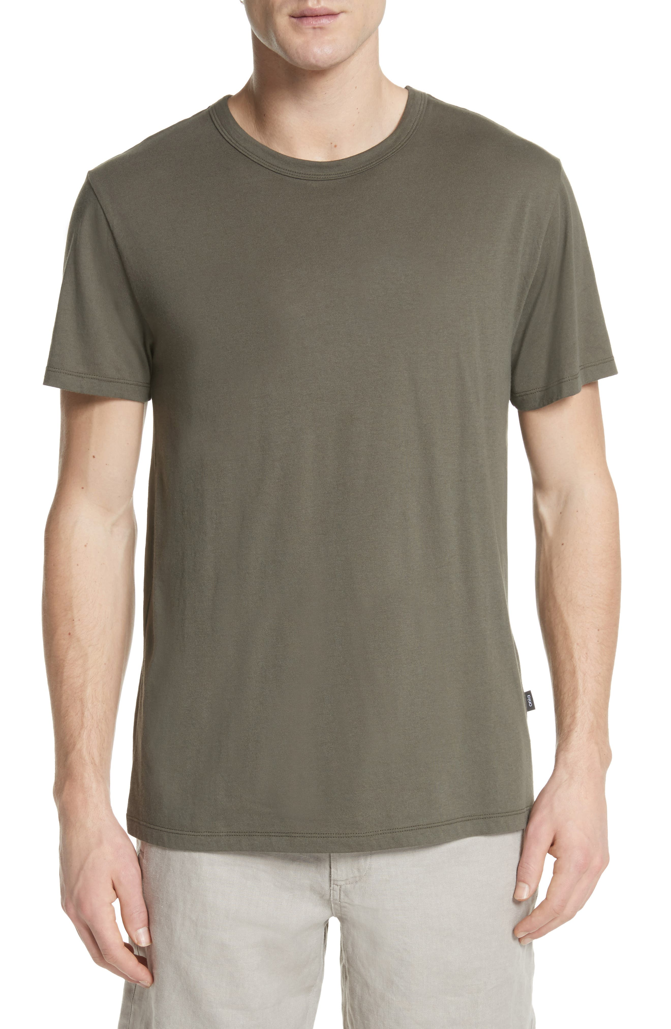 Johnny Sun Palm Graphic T-Shirt,                             Main thumbnail 1, color,                             DEEP SAGE