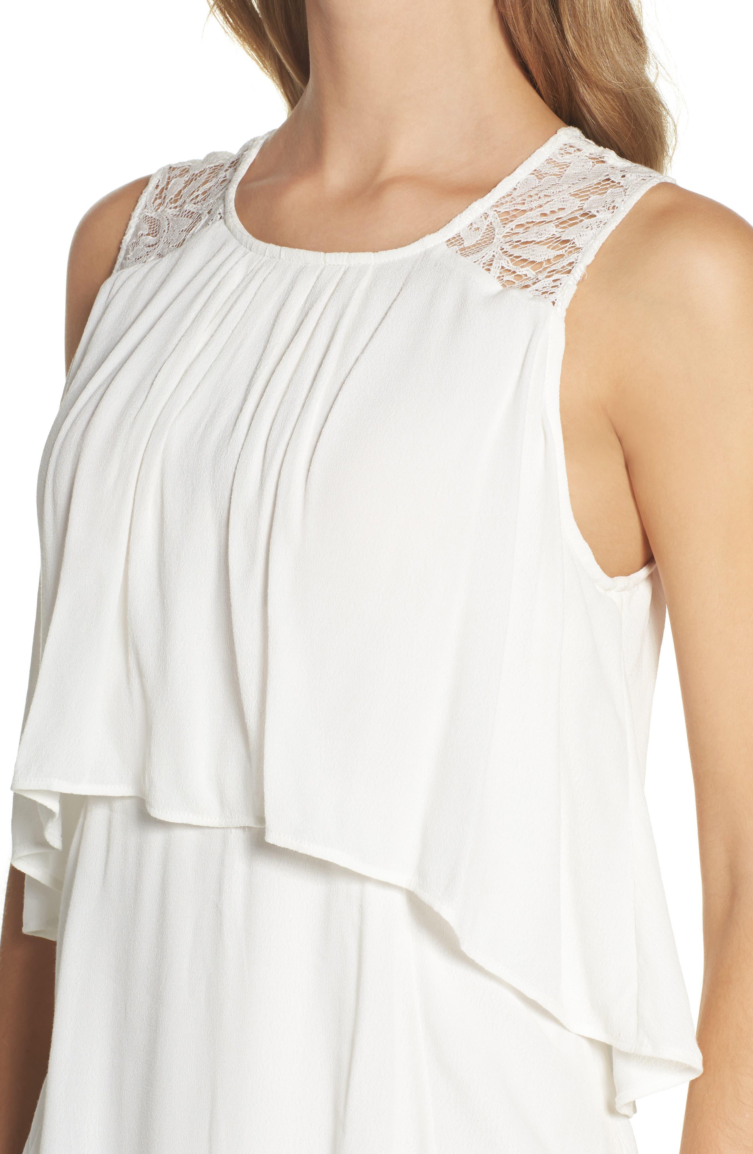 BB Dakota Erin Popover Dress,                             Alternate thumbnail 4, color,                             402