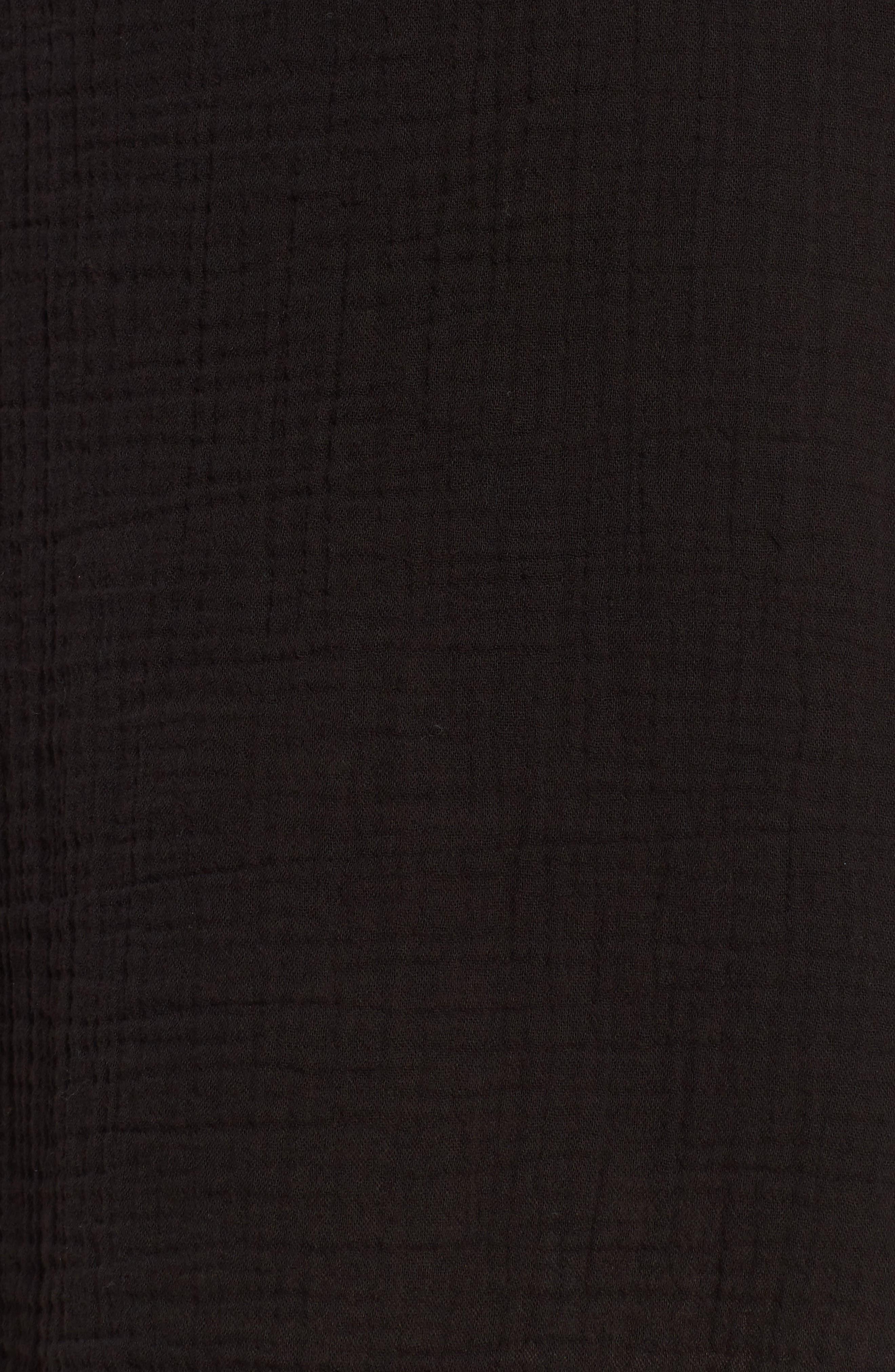 Organic Cotton Shift Dress,                             Alternate thumbnail 6, color,                             001