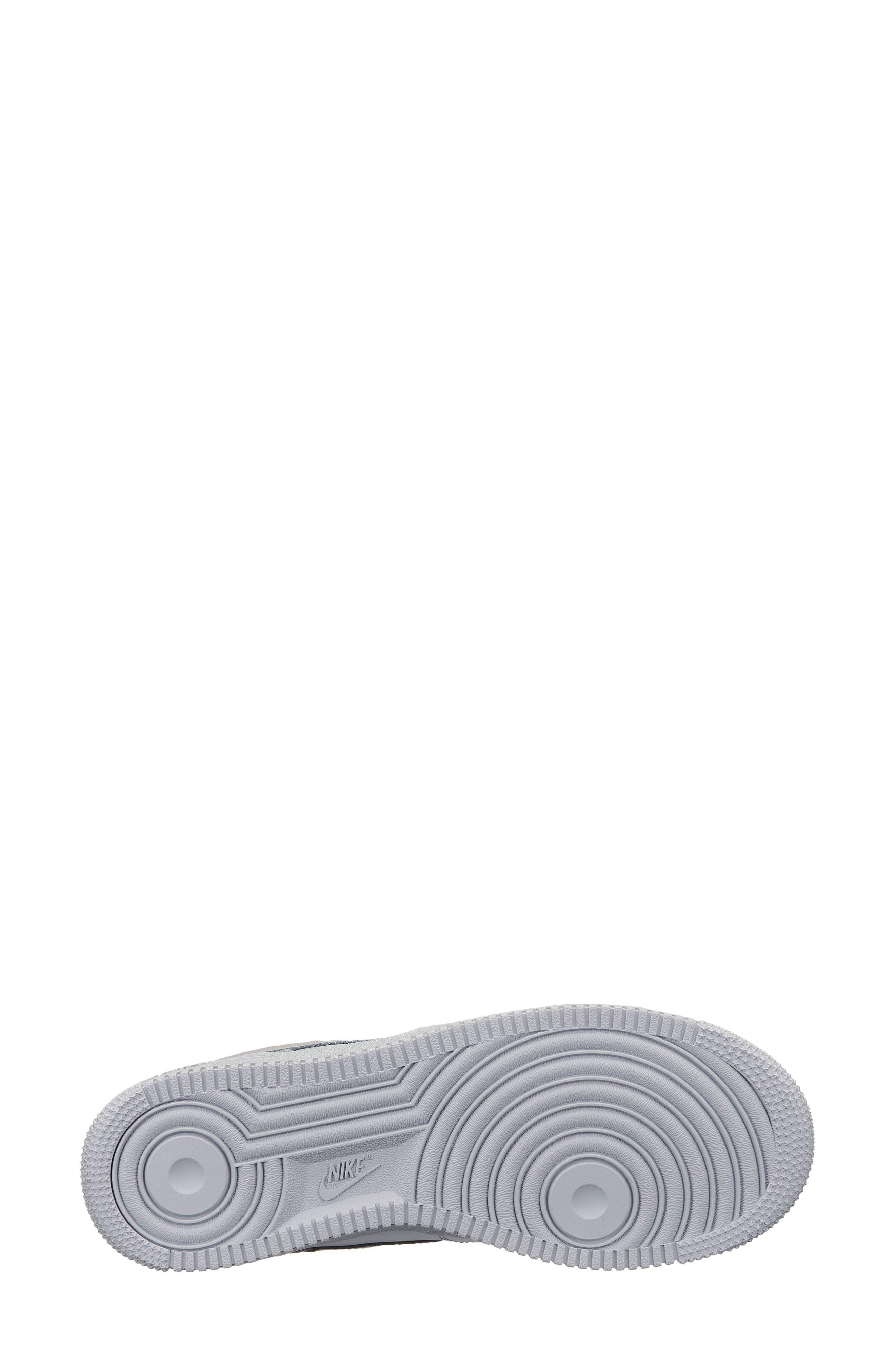 NIKE,                             Air Force 1 '07 LX Sneaker,                             Alternate thumbnail 2, color,                             METALLIC PLATINUM/ GOLD
