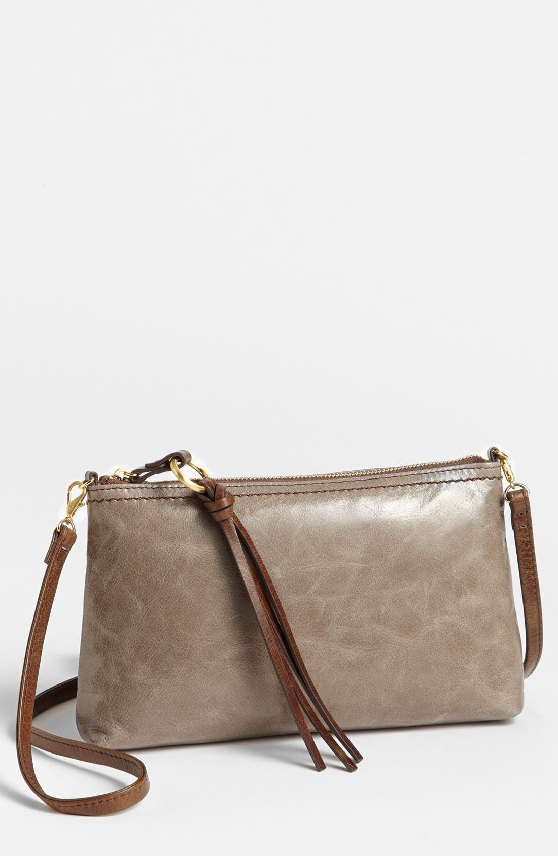 'Darcy' Leather Crossbody Bag,                             Main thumbnail 12, color,