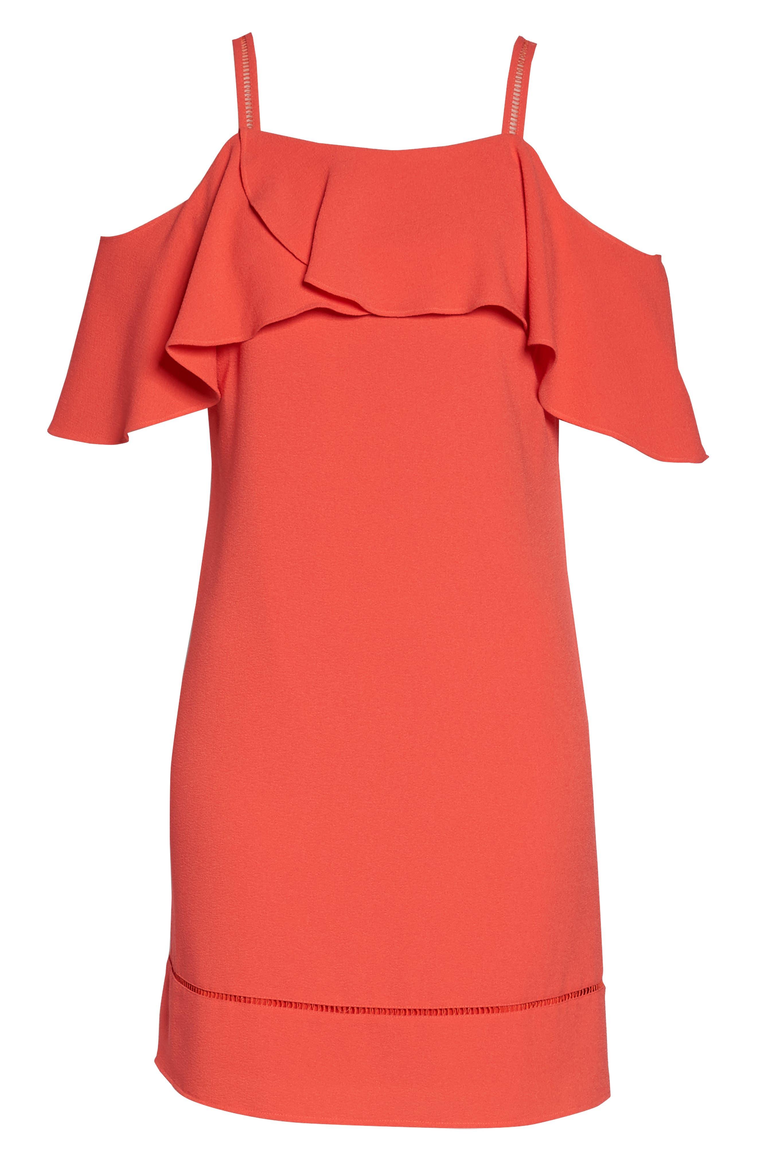 Cold Shoulder Dress,                             Alternate thumbnail 7, color,                             950