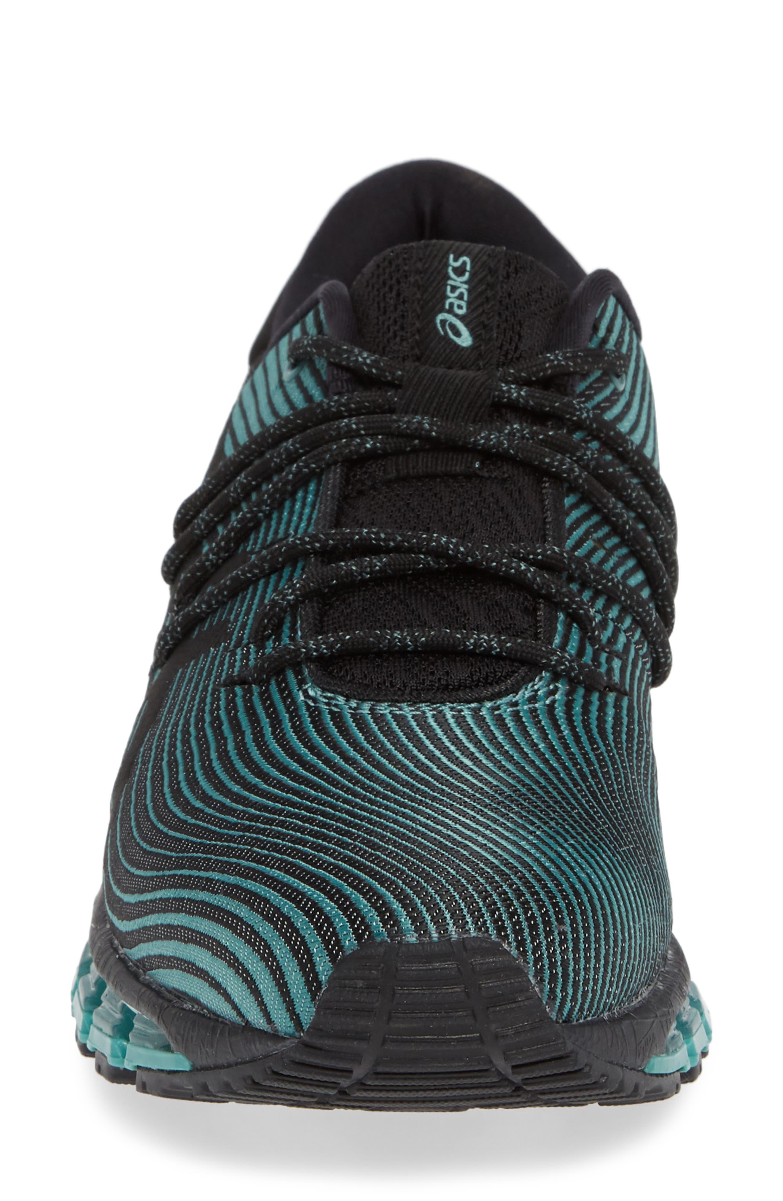 GEL Quantum 360 4 Running Shoe,                             Alternate thumbnail 4, color,                             SAGE/ BLACK