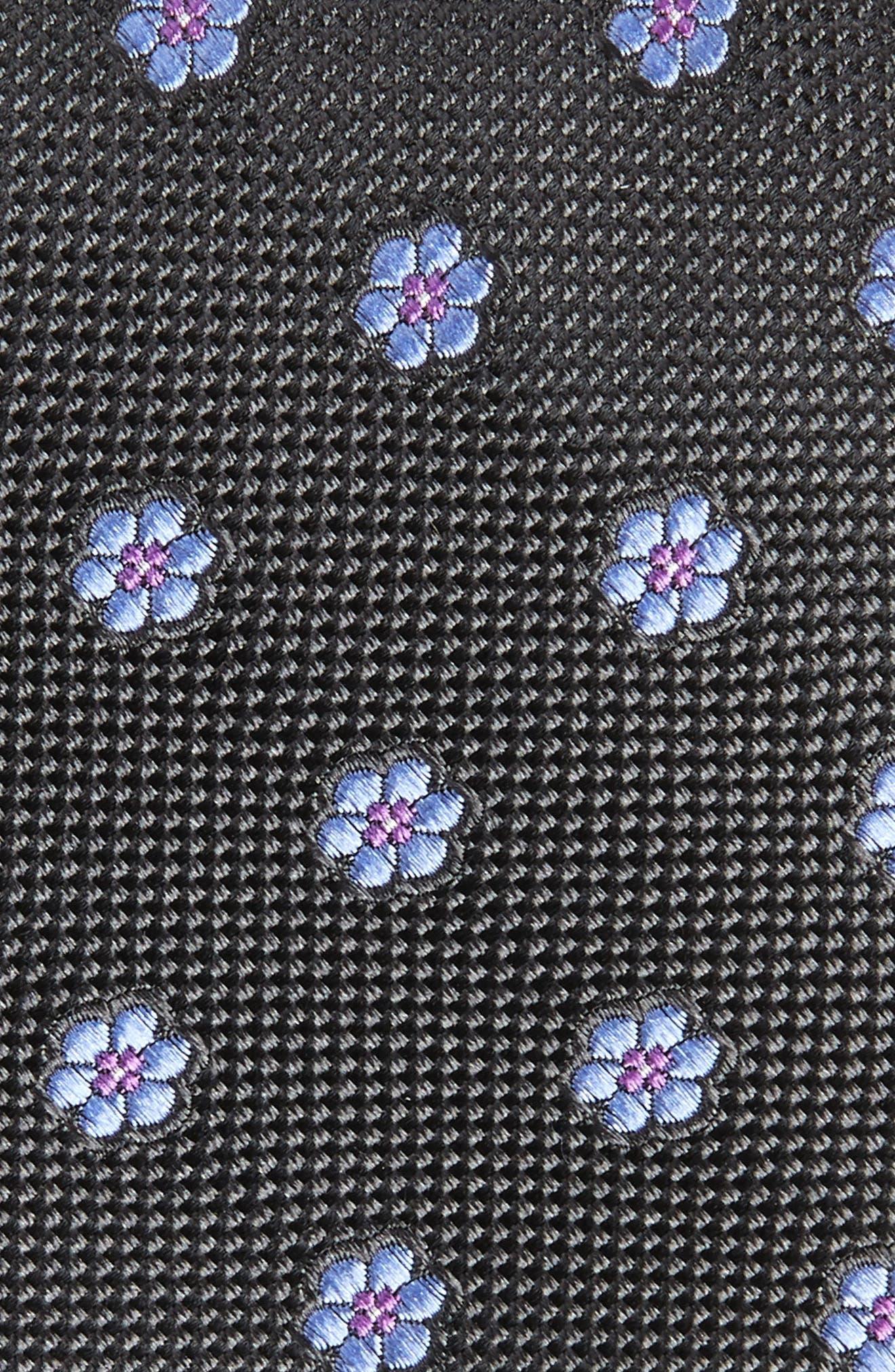Calibrate Cloisters Neat Silk Tie,                             Alternate thumbnail 2, color,                             001