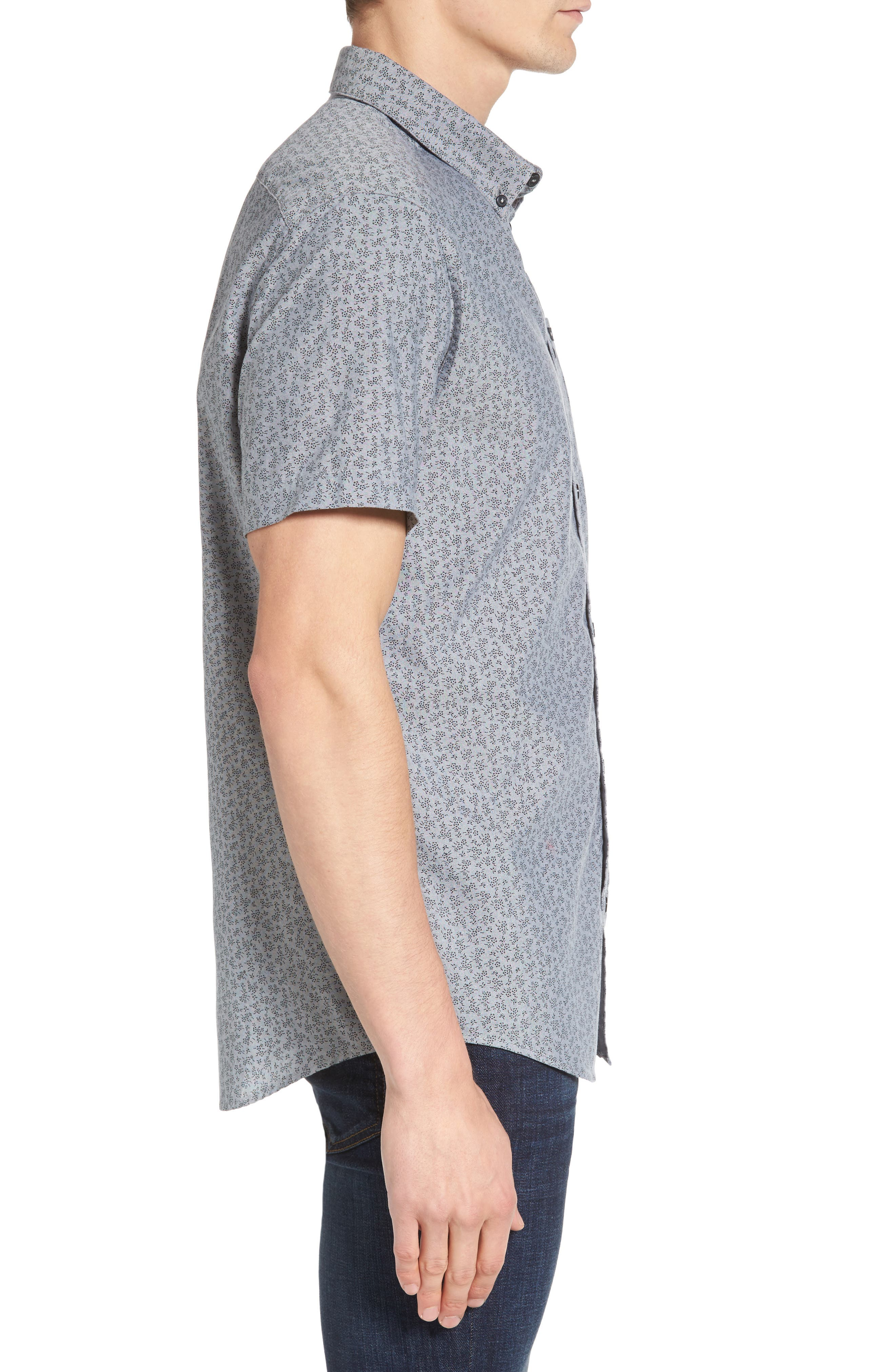 That'll Do Floral Woven Shirt,                             Alternate thumbnail 9, color,