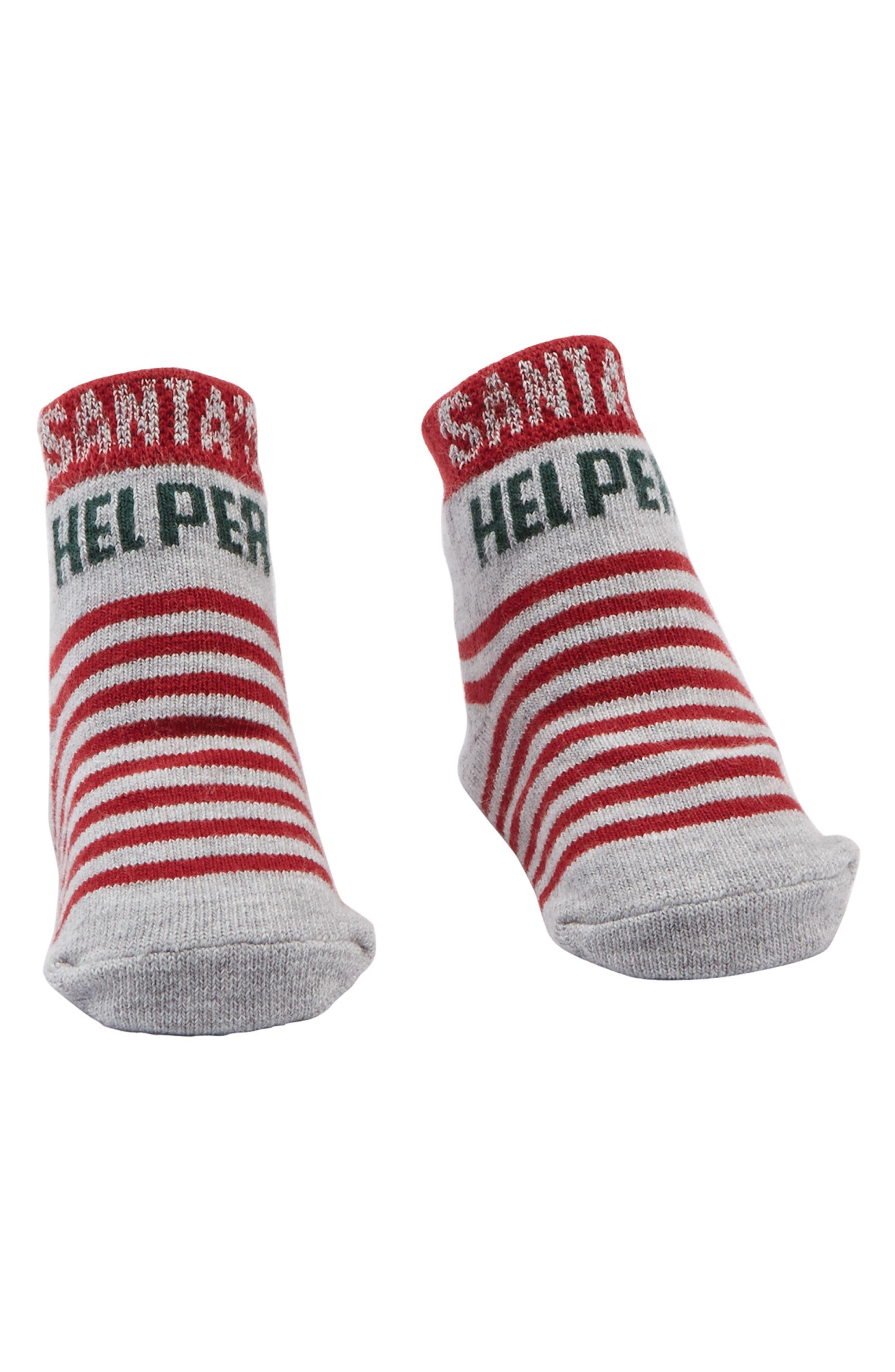 Santa's Helper Socks,                         Main,                         color, 600