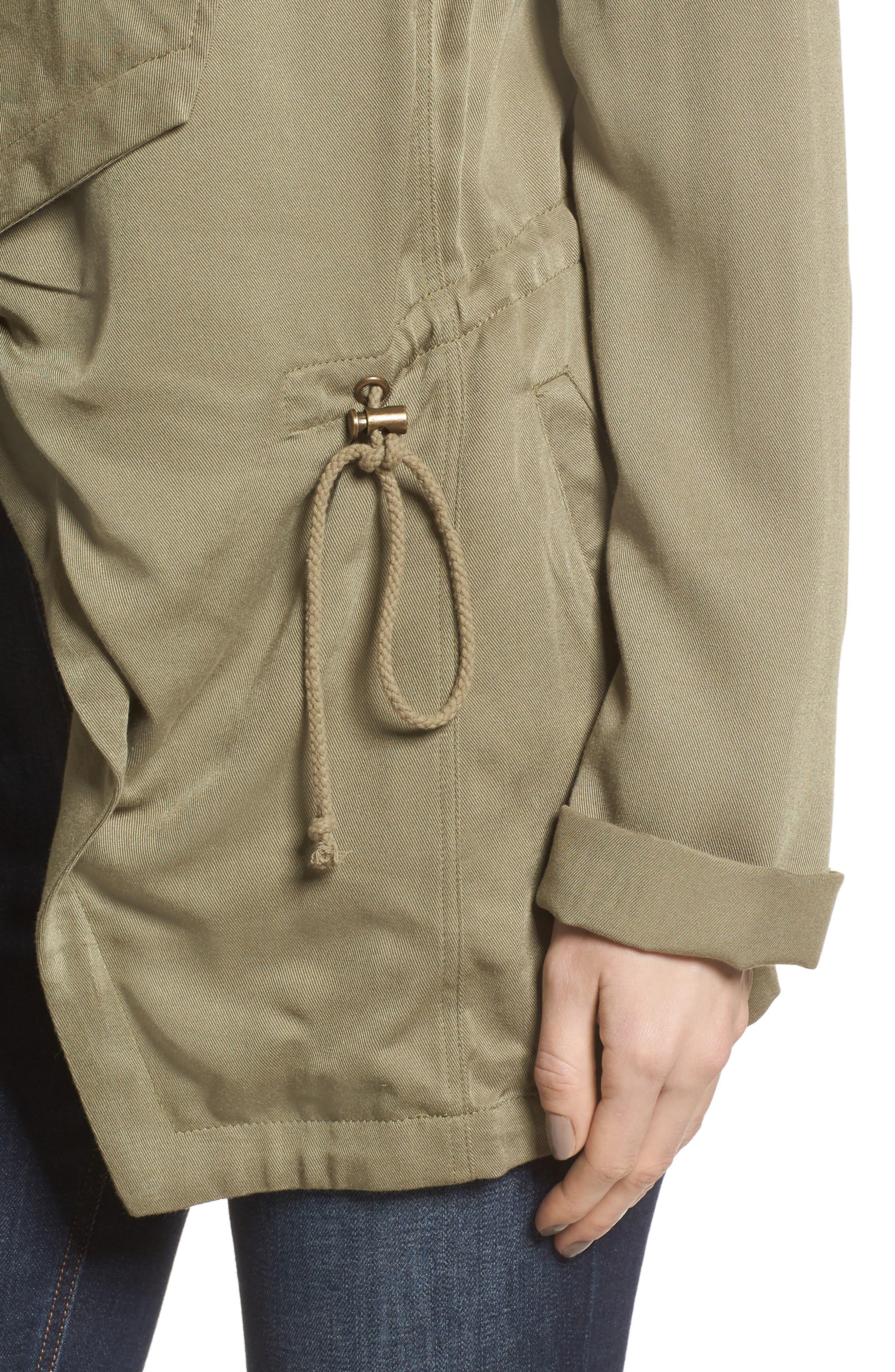 Drape Jacket,                             Alternate thumbnail 4, color,