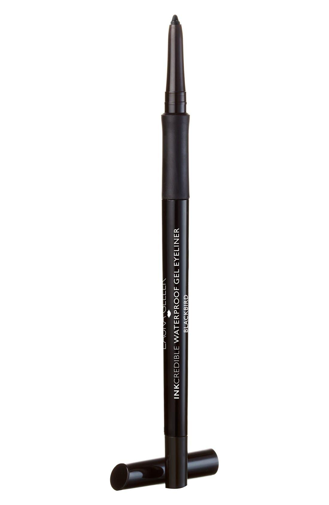 LAURA GELLER BEAUTY INKcredible Gel Eyeliner Pencil, Main, color, BLACKBIRD