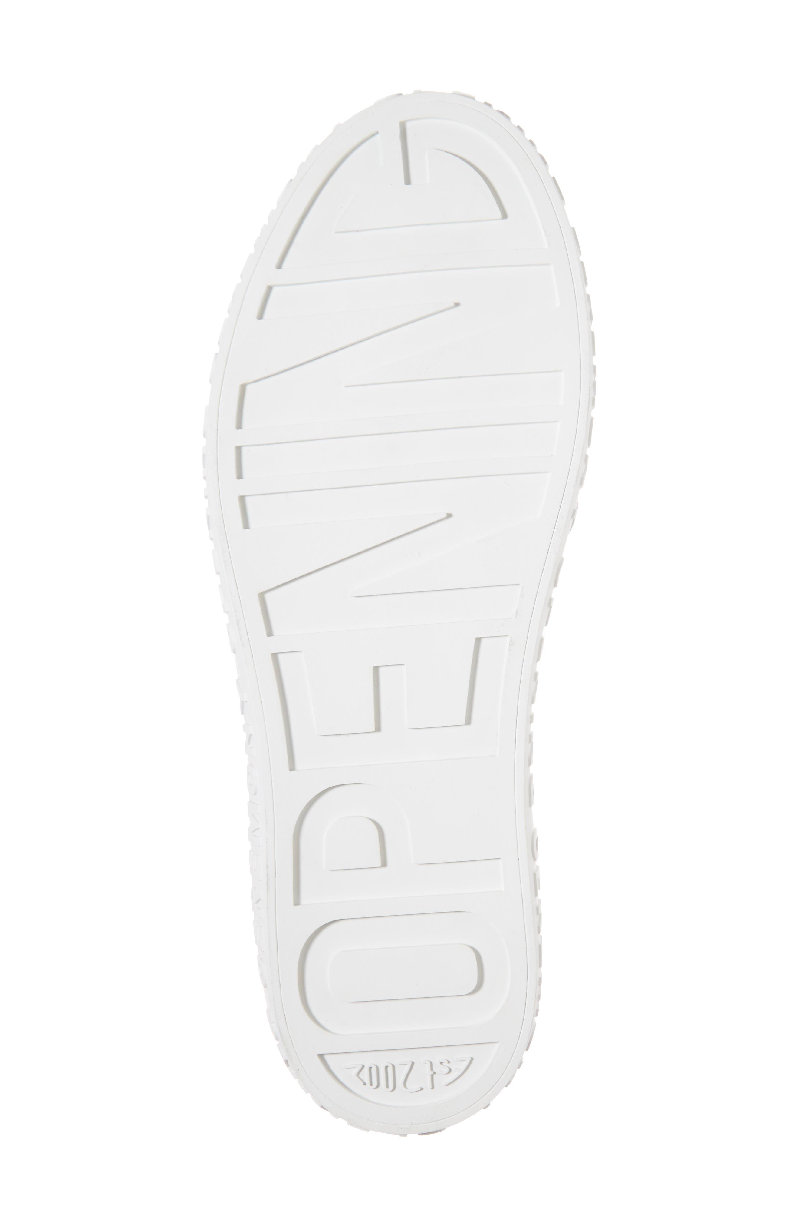 La Cienega Logo Sneaker,                             Alternate thumbnail 6, color,                             040