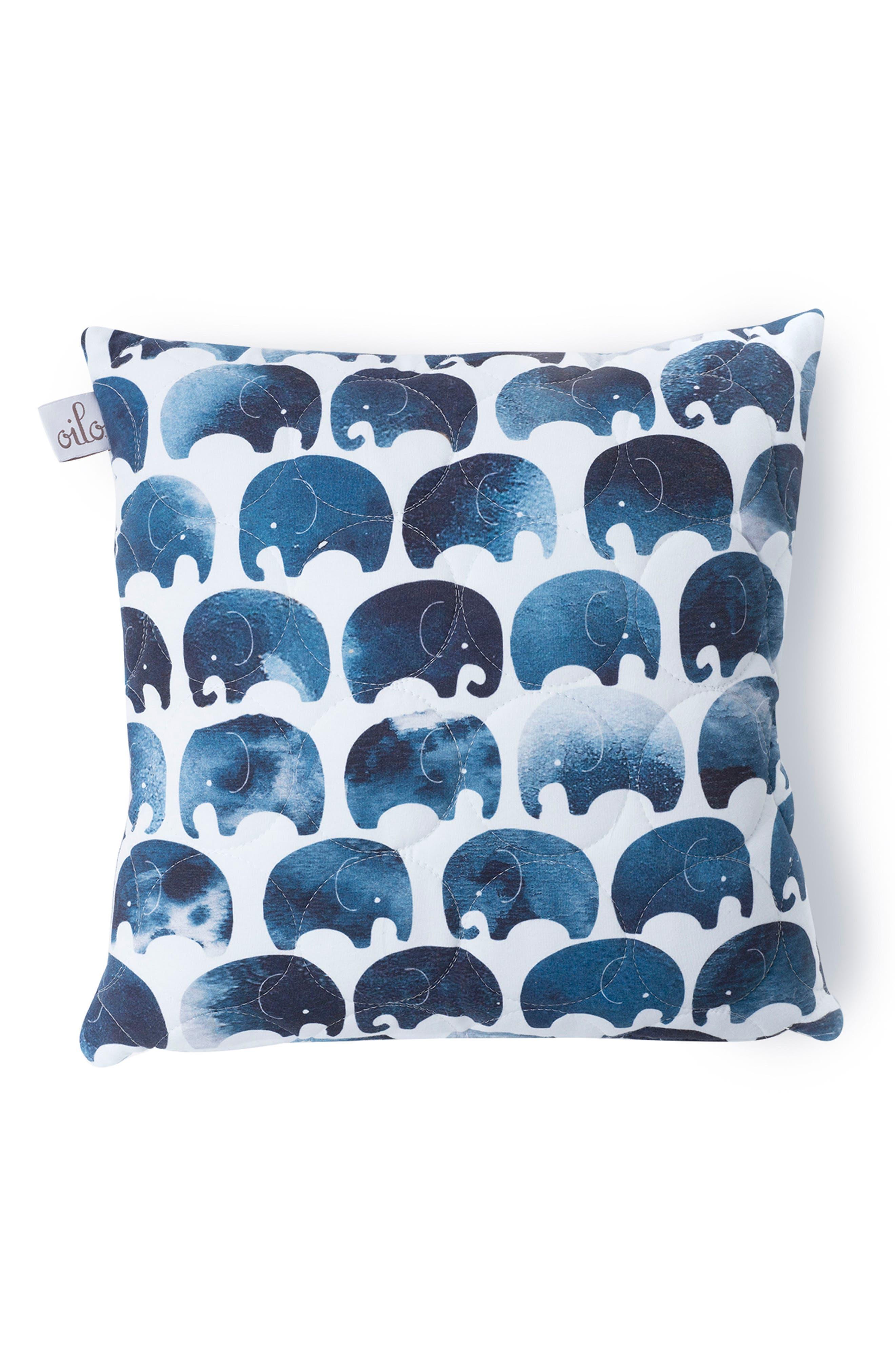 OILO,                             Elefant Blanket & Pillow Set,                             Alternate thumbnail 2, color,                             400