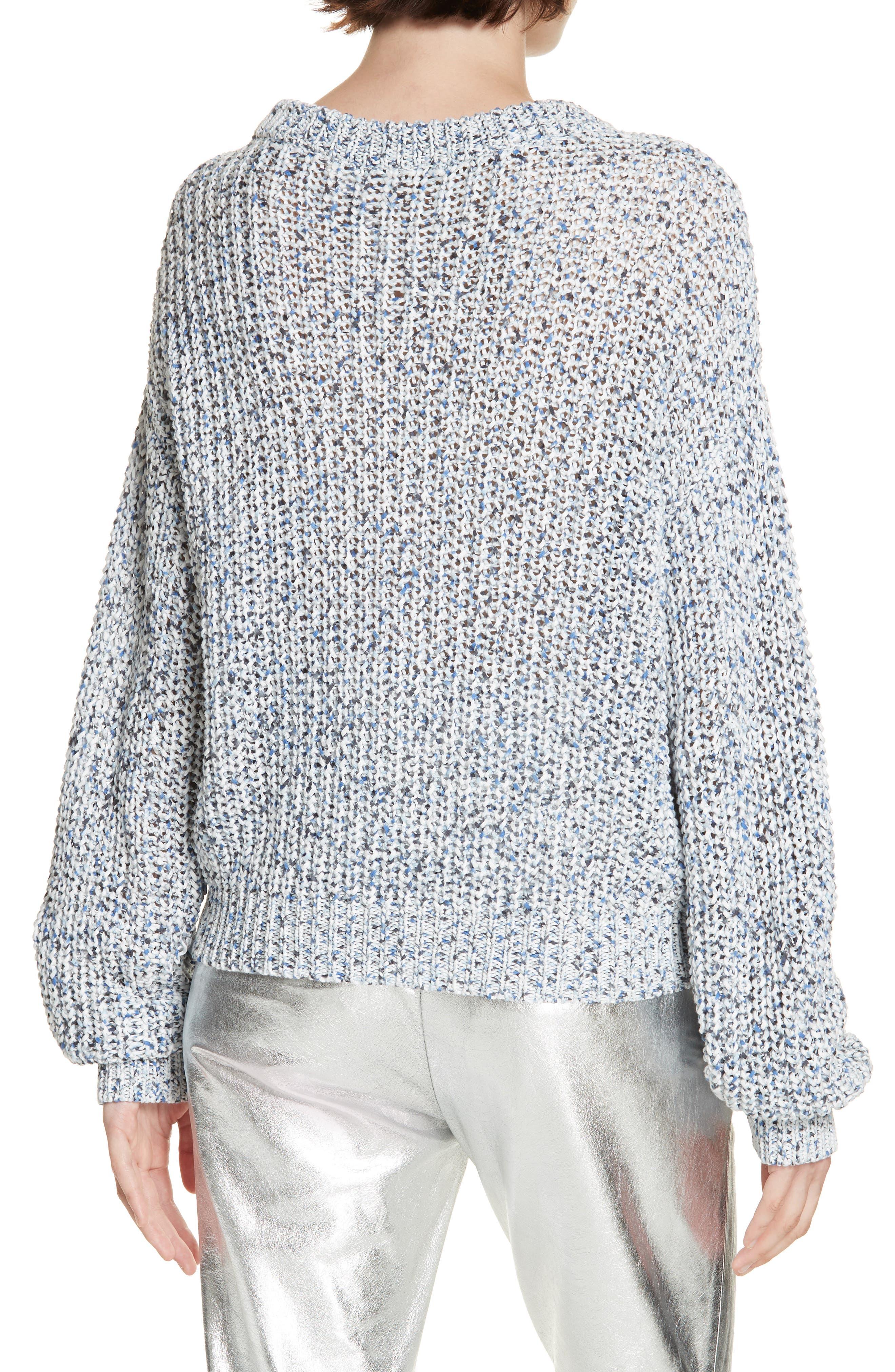 Ryce Cotton Sweater,                             Alternate thumbnail 2, color,                             BLUE MULIT
