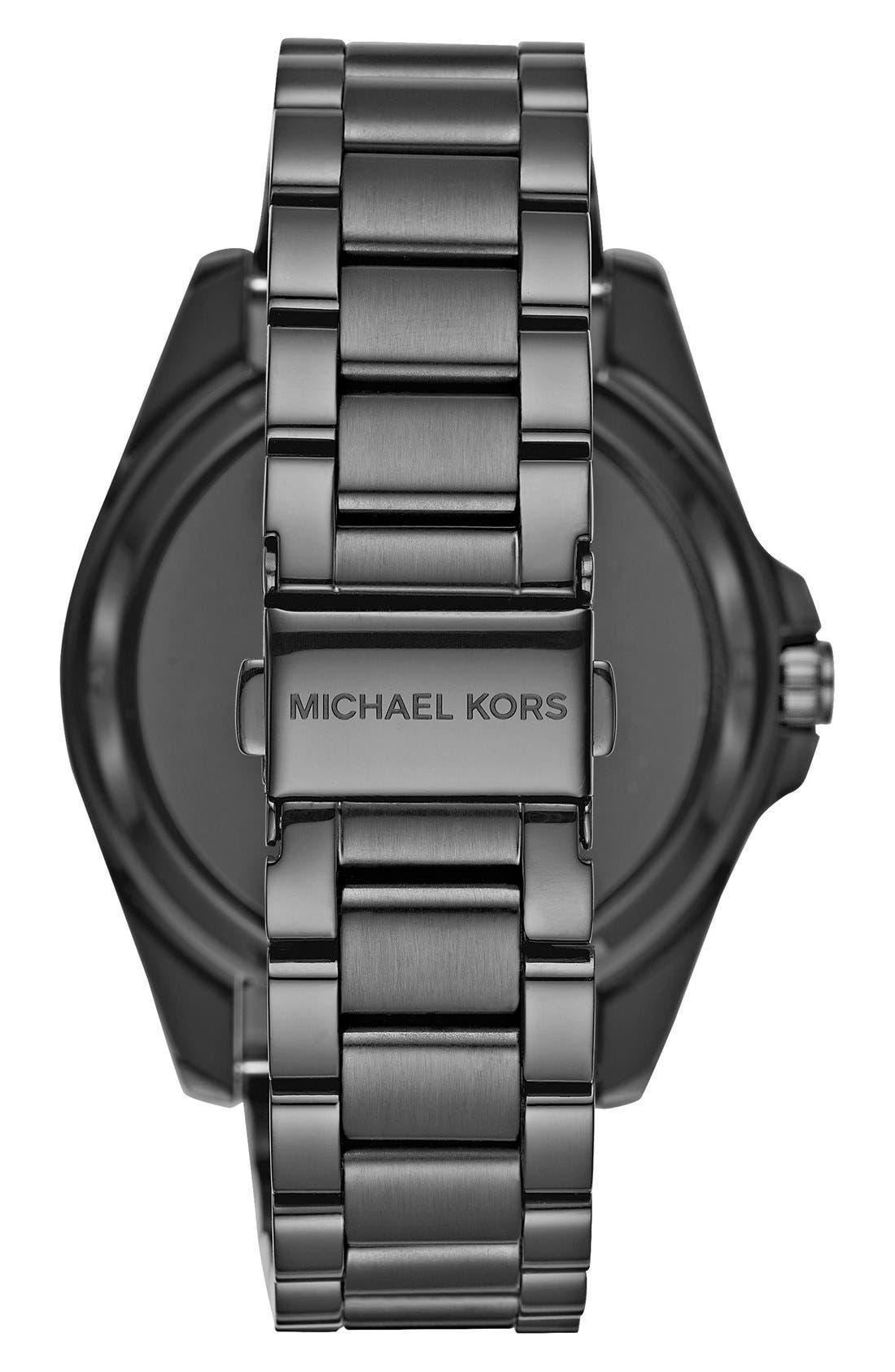 MICHAEL Michael Kors Bradshaw Access Bracelet Smart Watch, 45mm,                             Alternate thumbnail 55, color,