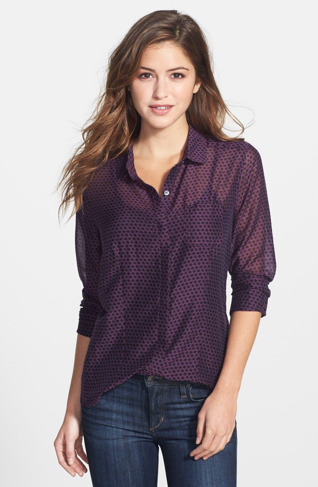 Cotton & Silk Shirt,                             Main thumbnail 31, color,