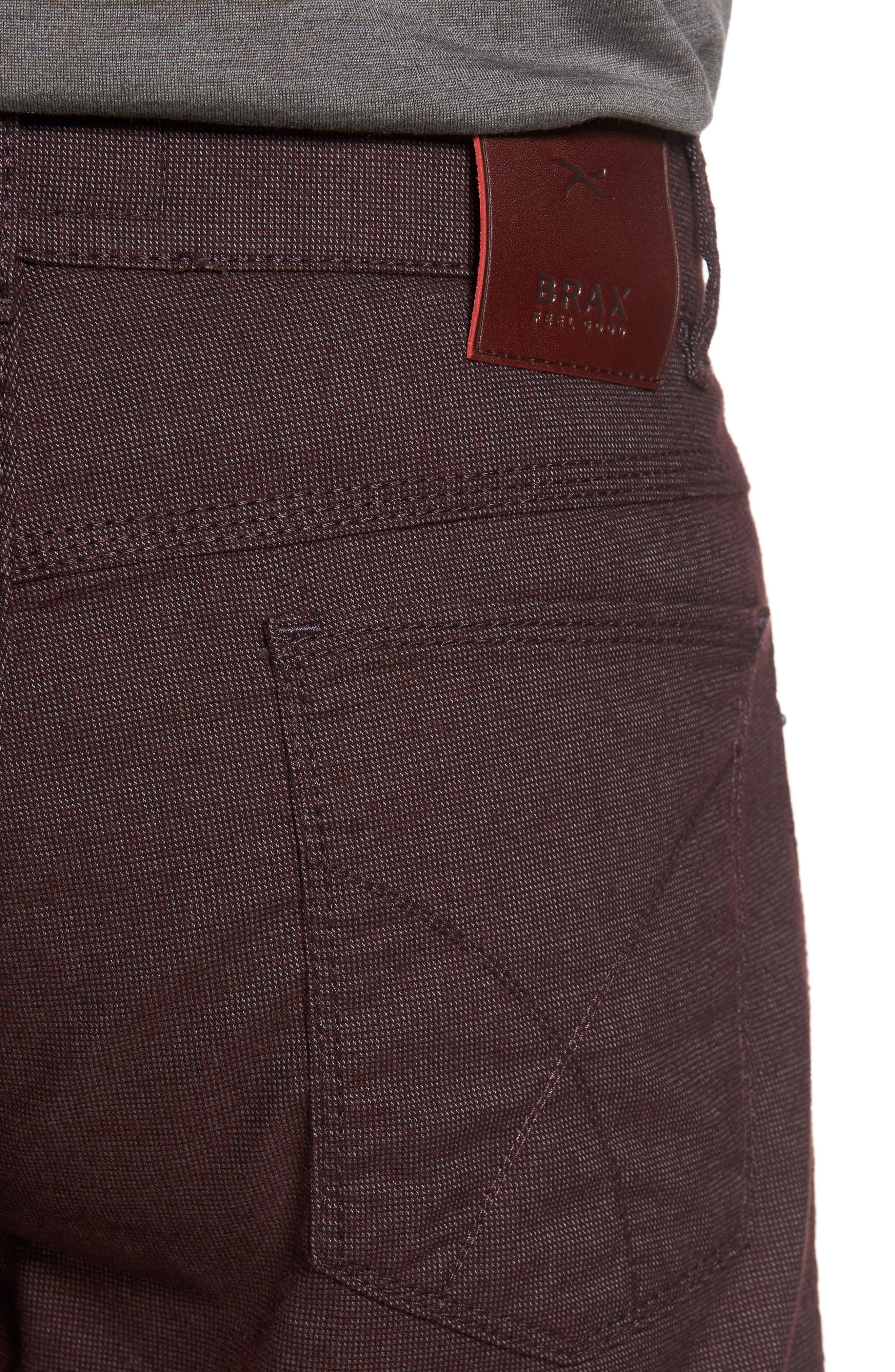 Five-Pocket Stretch Cotton Trousers,                             Alternate thumbnail 20, color,
