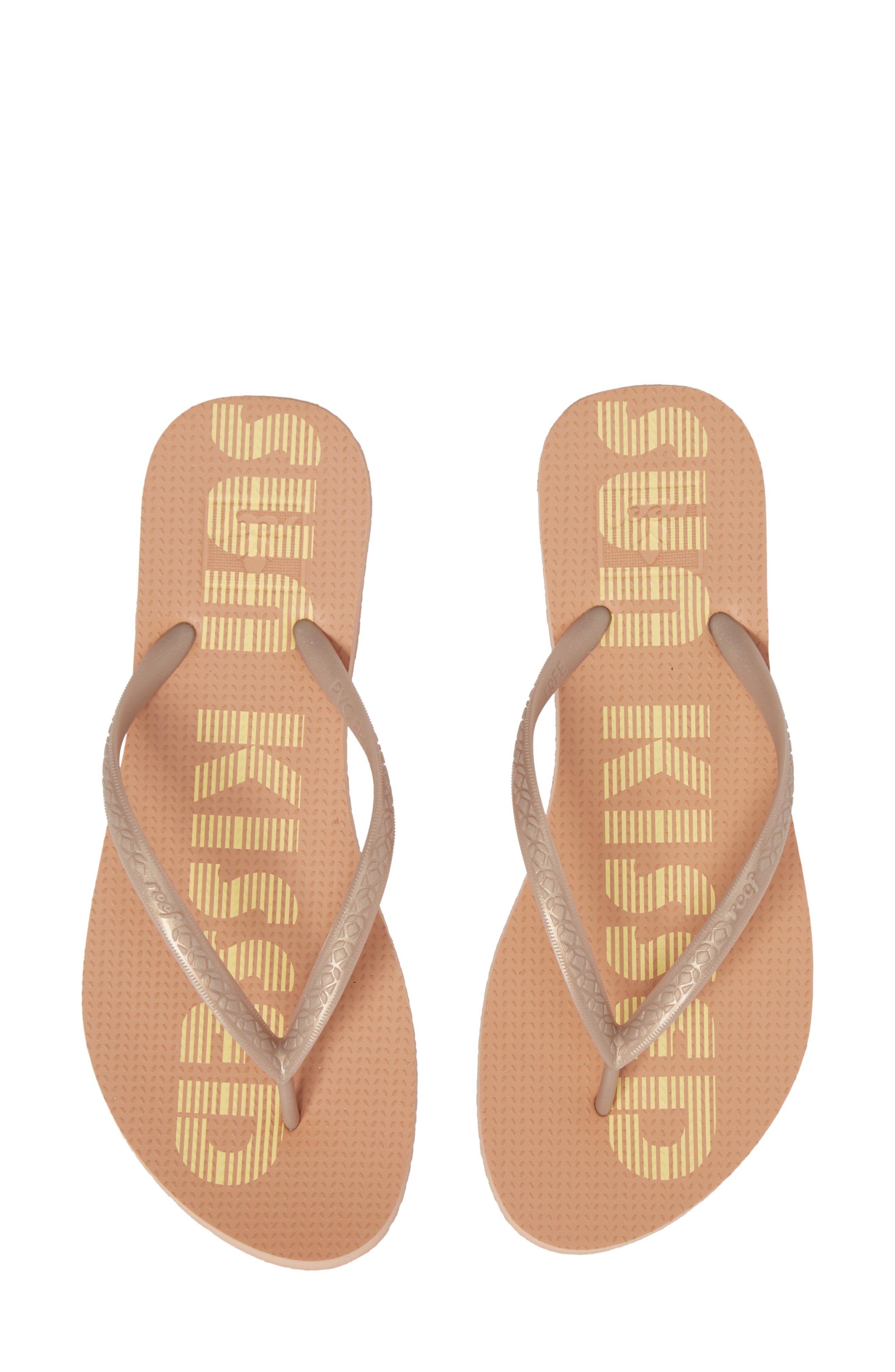 Escape Flip Flop,                         Main,                         color, SUNKISSED