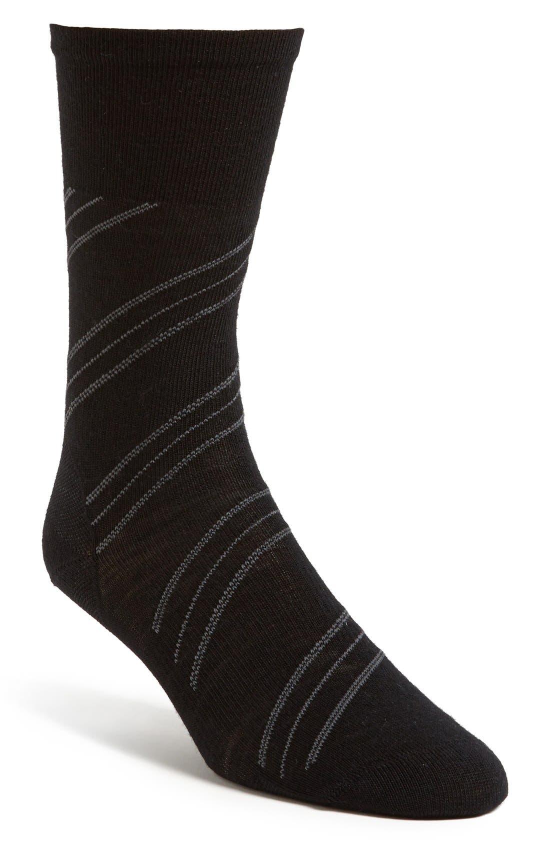 'Barber Pole' Socks, Main, color, 001