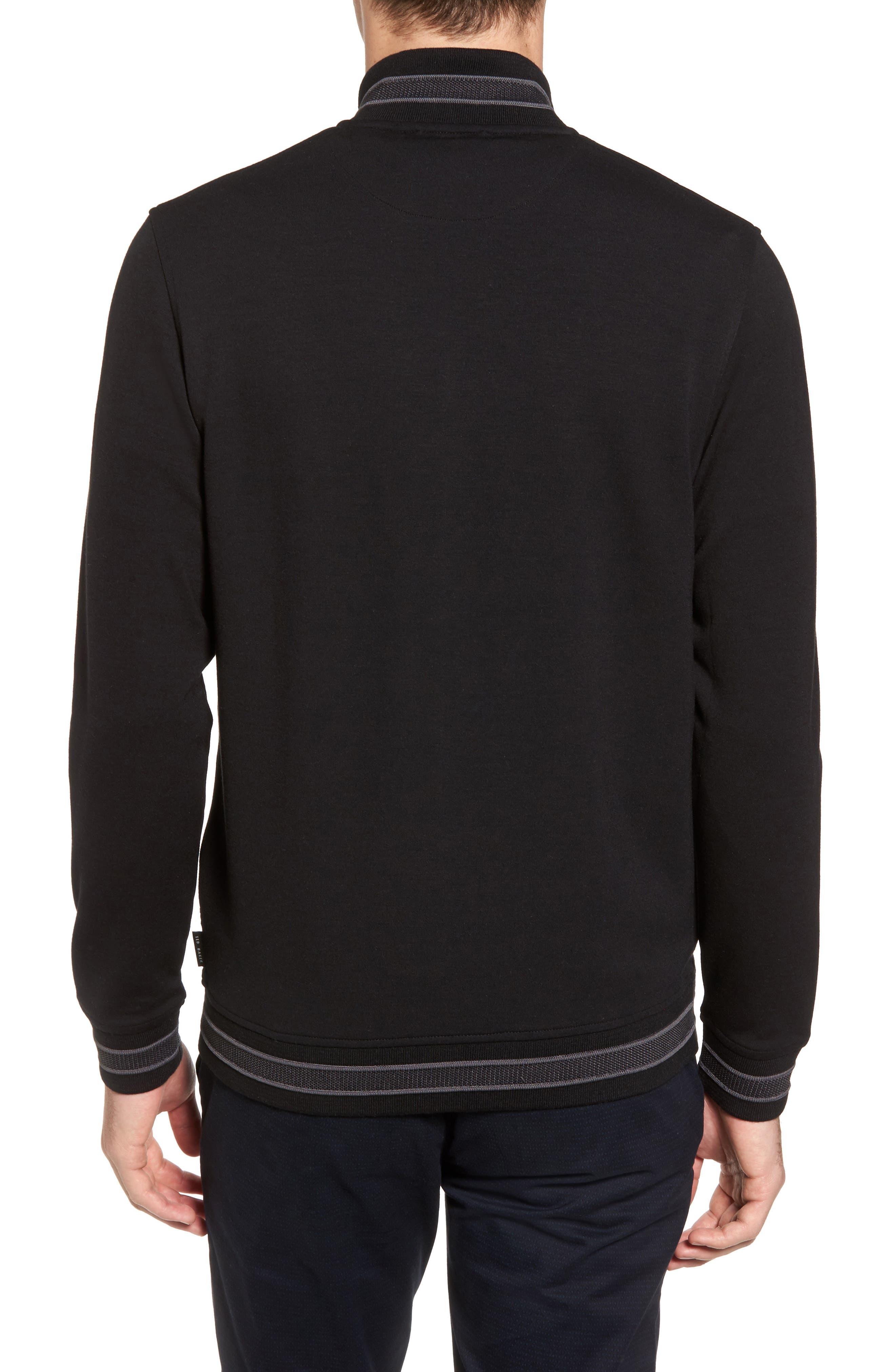 Collie Jersey Zip Jacket,                             Alternate thumbnail 2, color,                             001