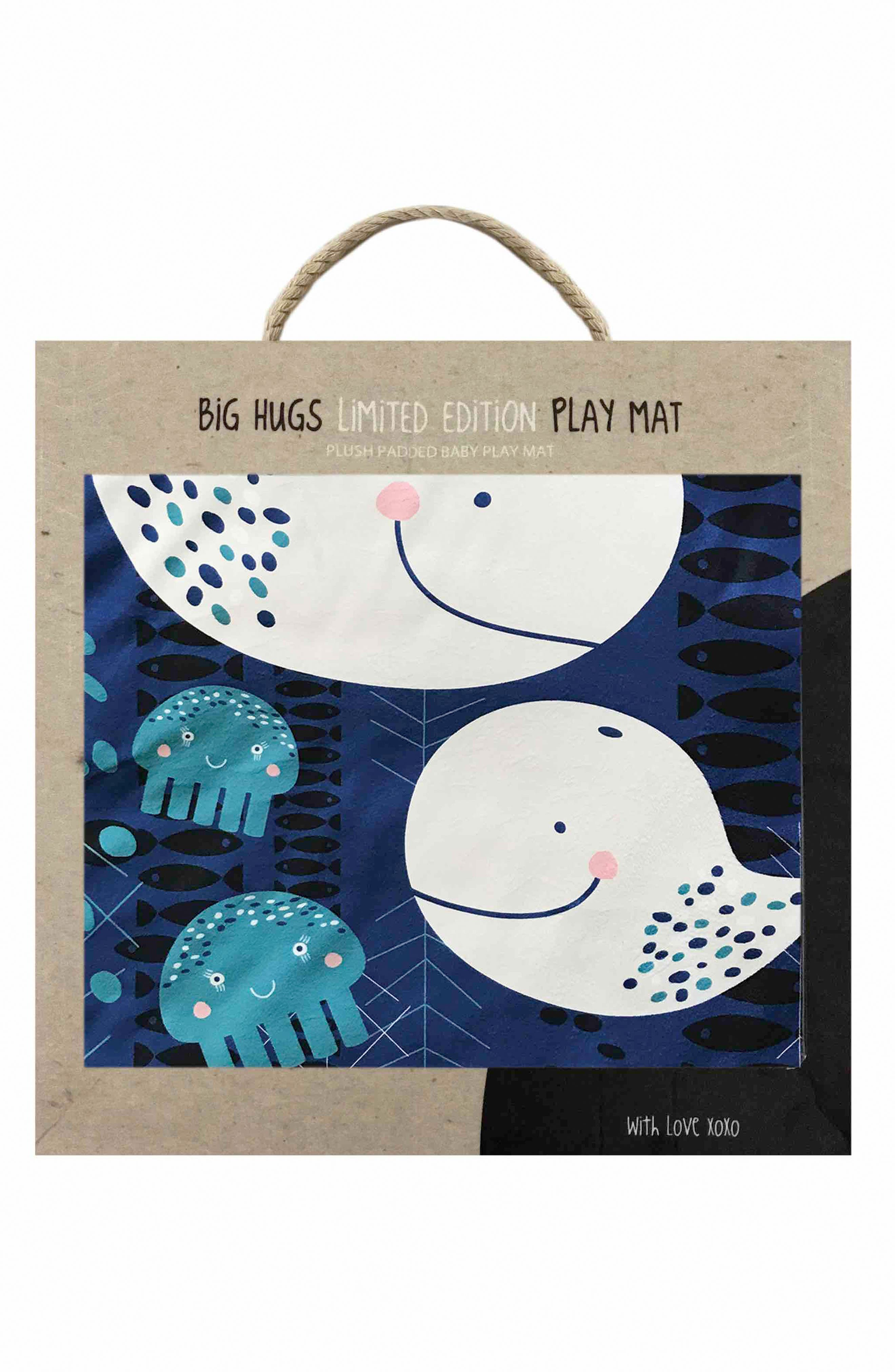Whale of a Time Play Mat,                             Alternate thumbnail 2, color,                             INDIGO/ GREY/ WHITE