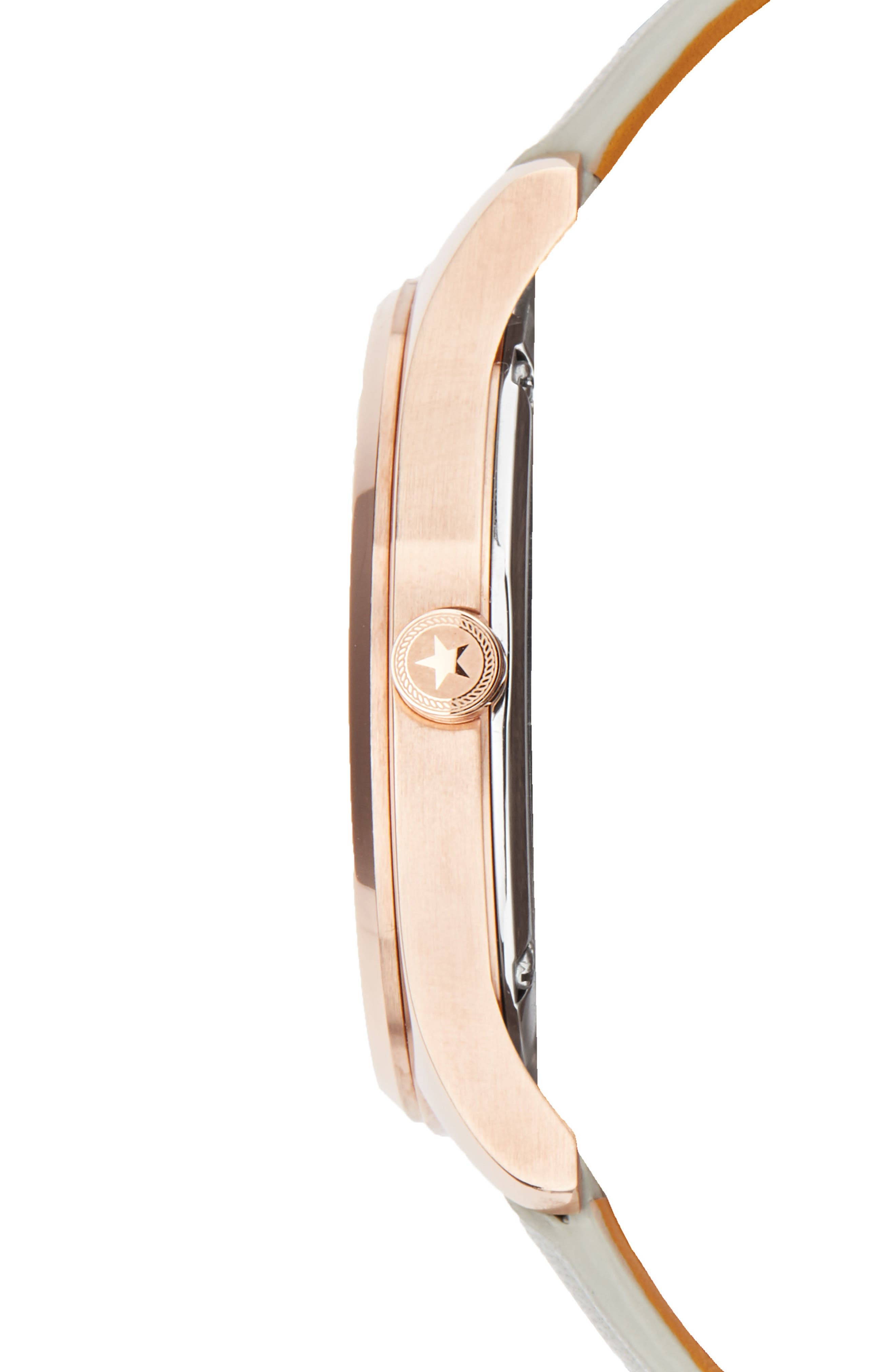 Slim Leather Strap Watch, 38mm,                             Alternate thumbnail 10, color,