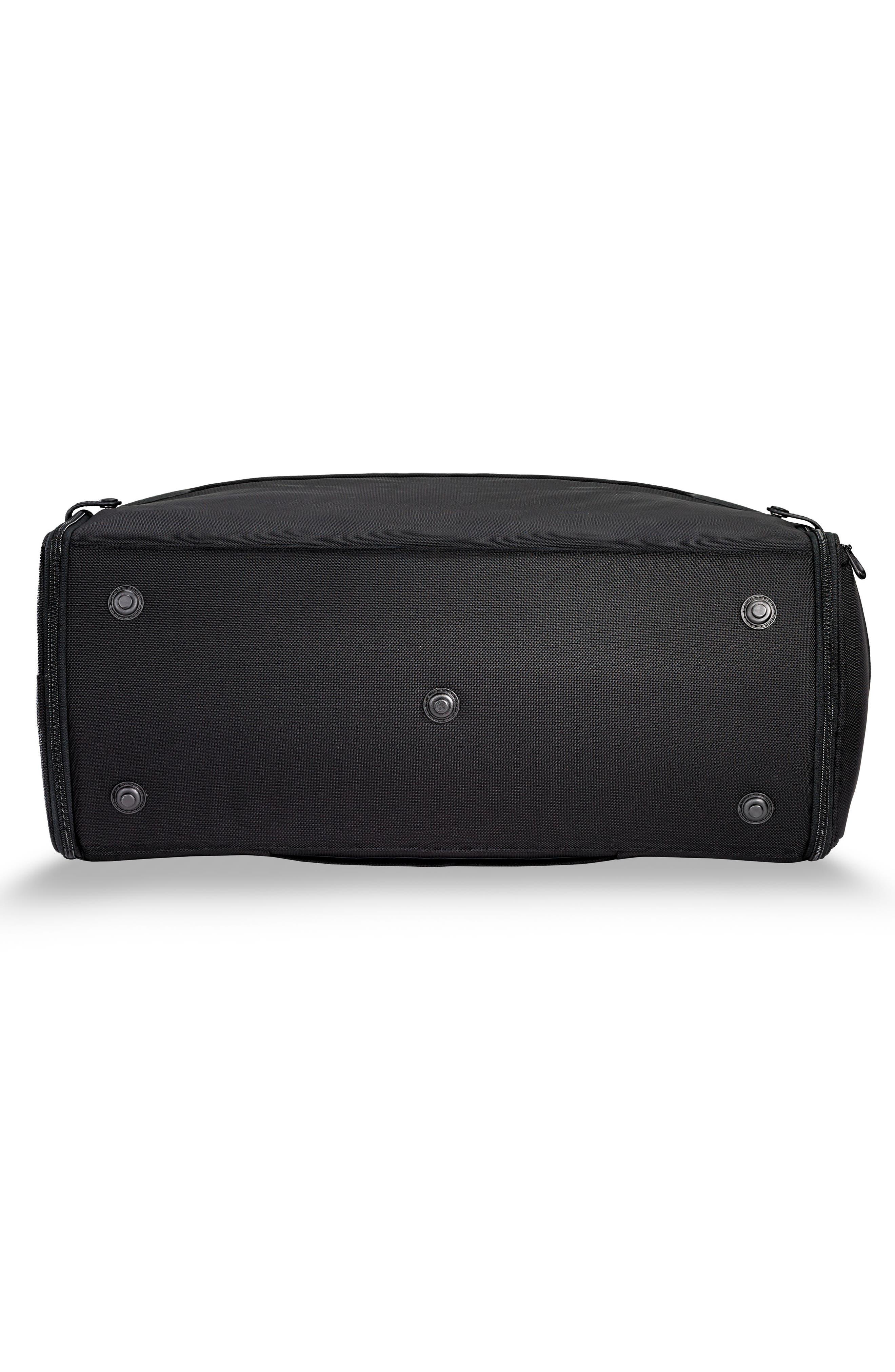 BRIGGS & RILEY,                             Baseline Suiter Duffel Bag,                             Alternate thumbnail 6, color,                             BLACK