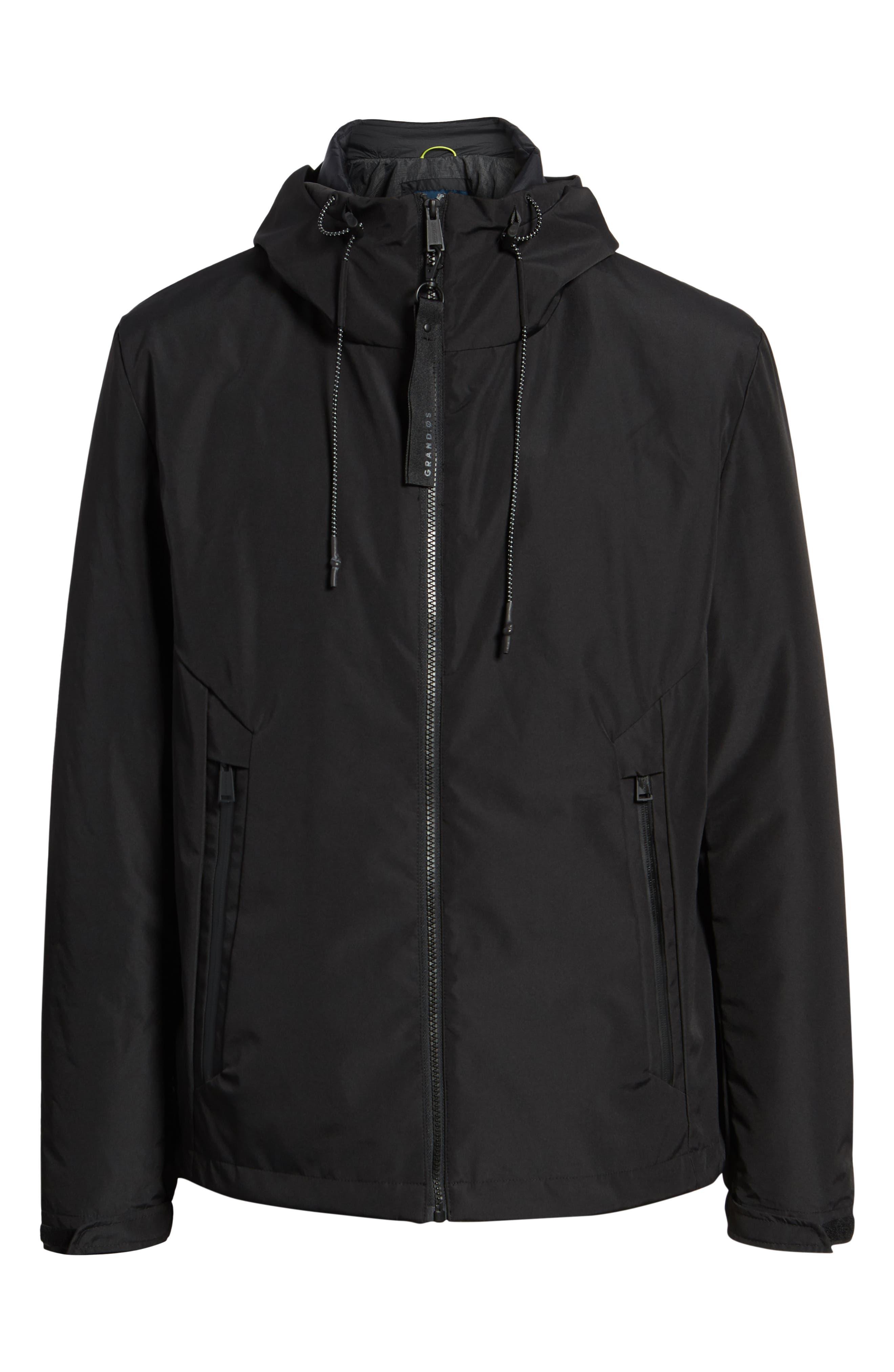 3-in-1 Rain Jacket,                             Alternate thumbnail 7, color,                             BLACK