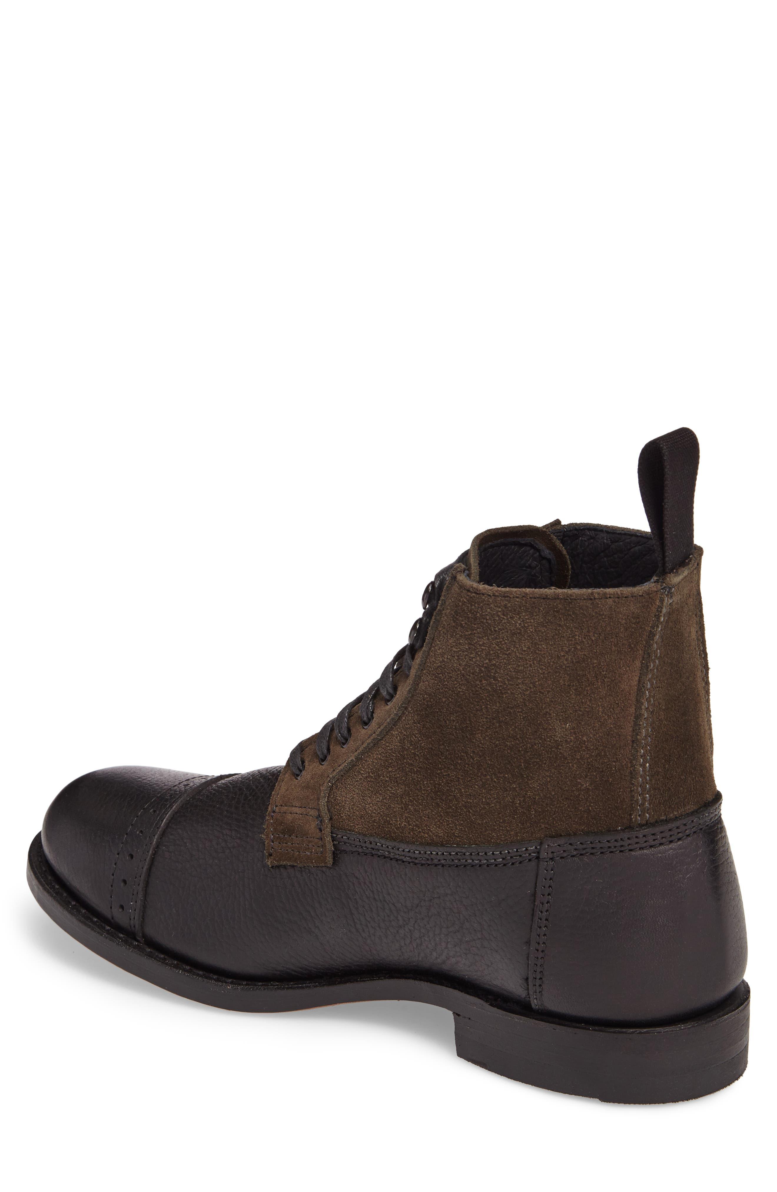 Frey Garrison Cap Toe Boot,                             Alternate thumbnail 2, color,                             010