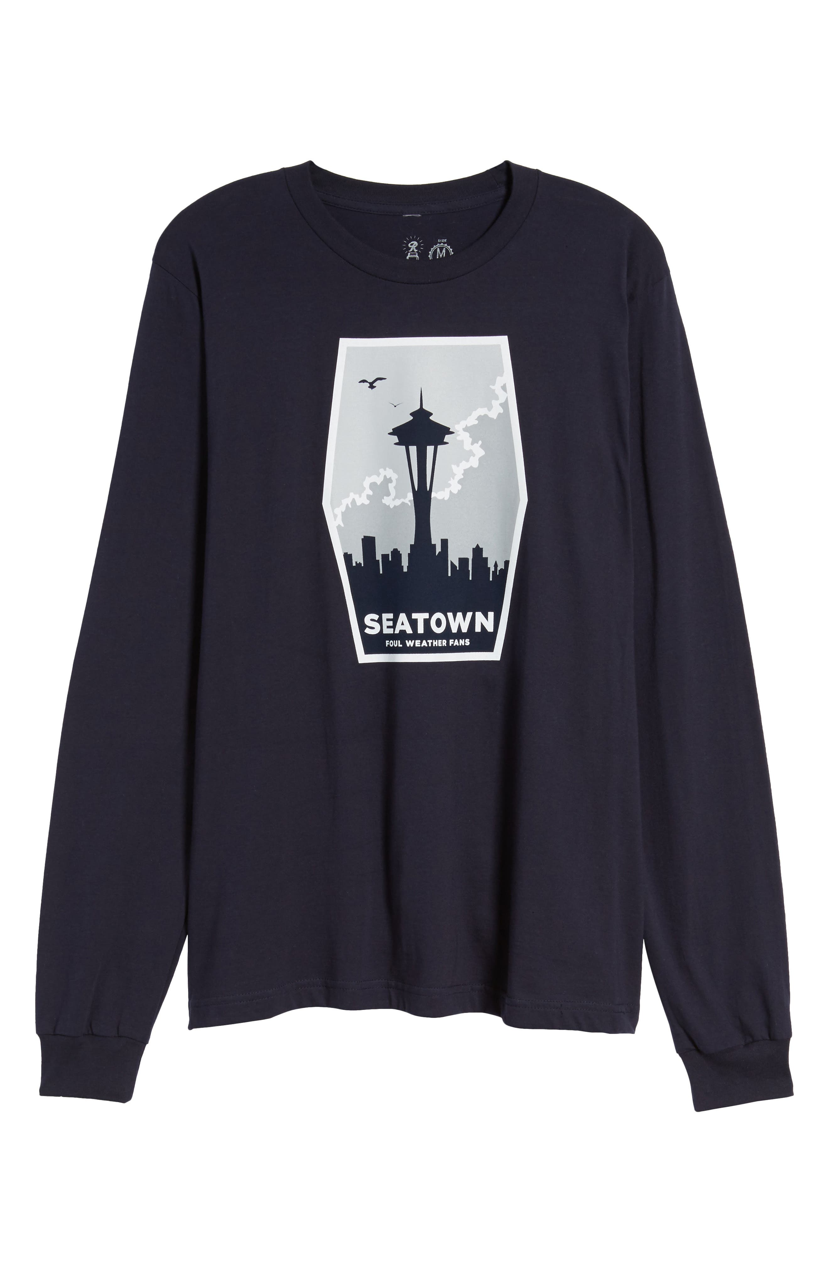 Foul Weather Fans T-Shirt,                             Alternate thumbnail 6, color,                             400