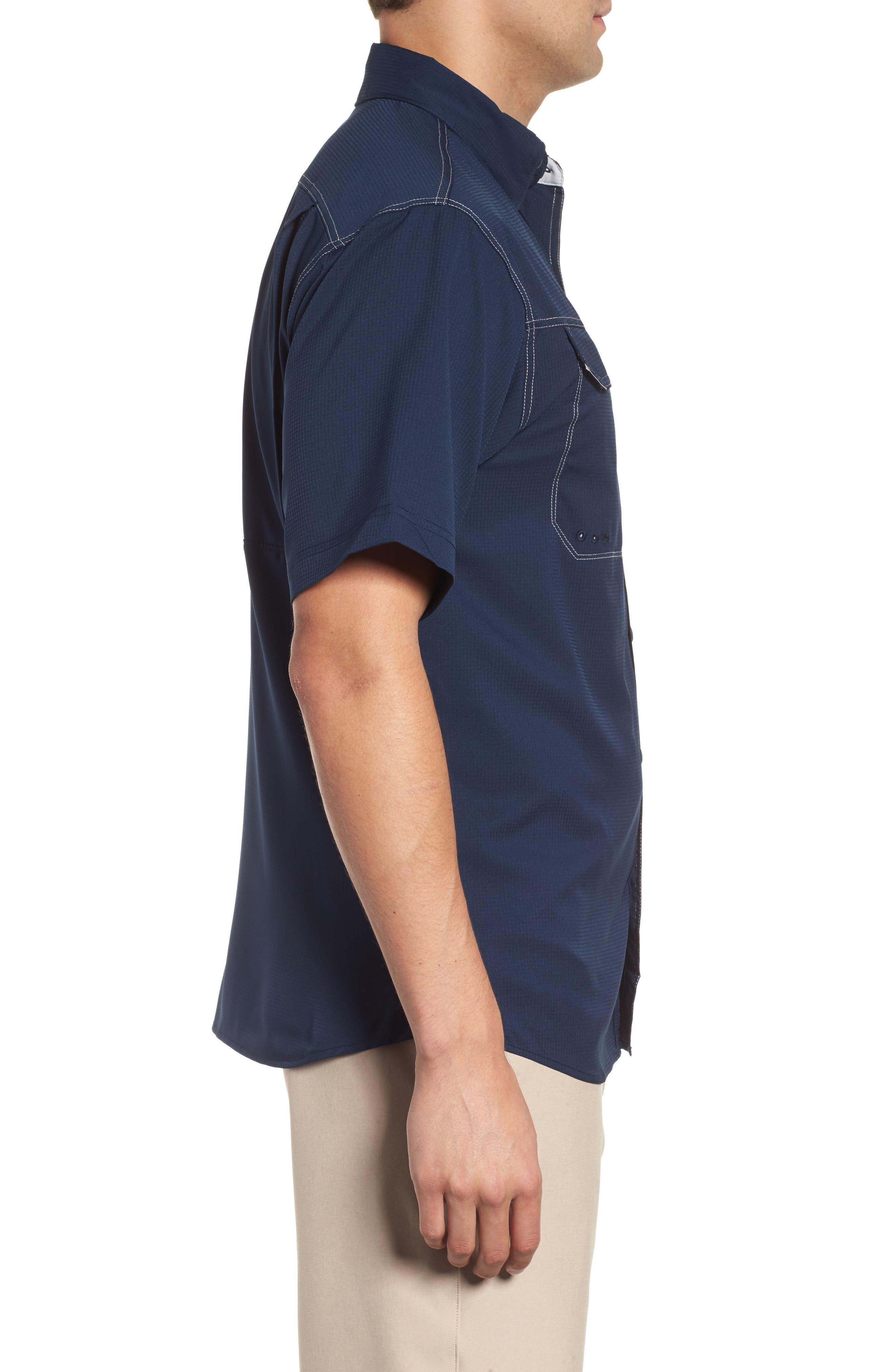 PFG Low Drag Offshore Woven Shirt,                             Alternate thumbnail 12, color,
