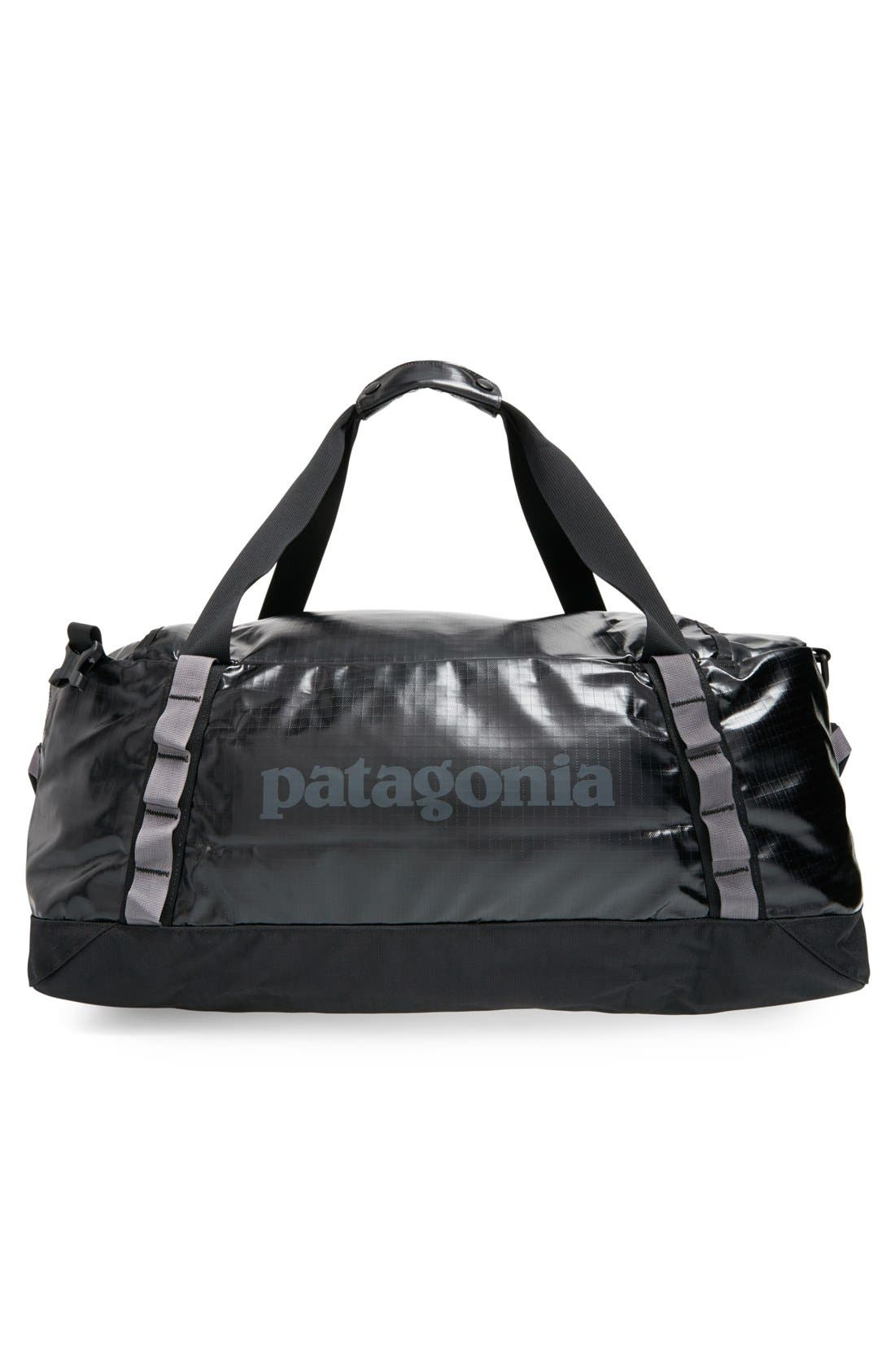 PATAGONIA,                             'Black Hole<sup>™</sup>' Duffel Bag,                             Alternate thumbnail 4, color,                             001