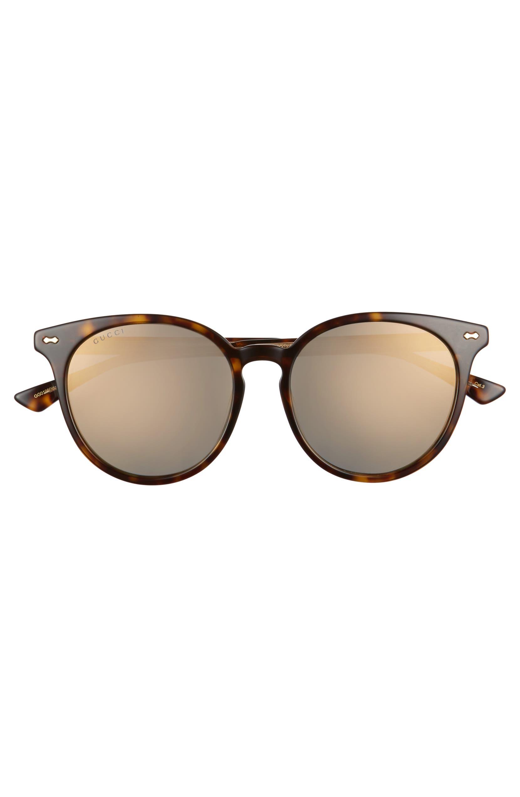 62287f6a6e Gucci 55mm Round Cat Eye Sunglasses