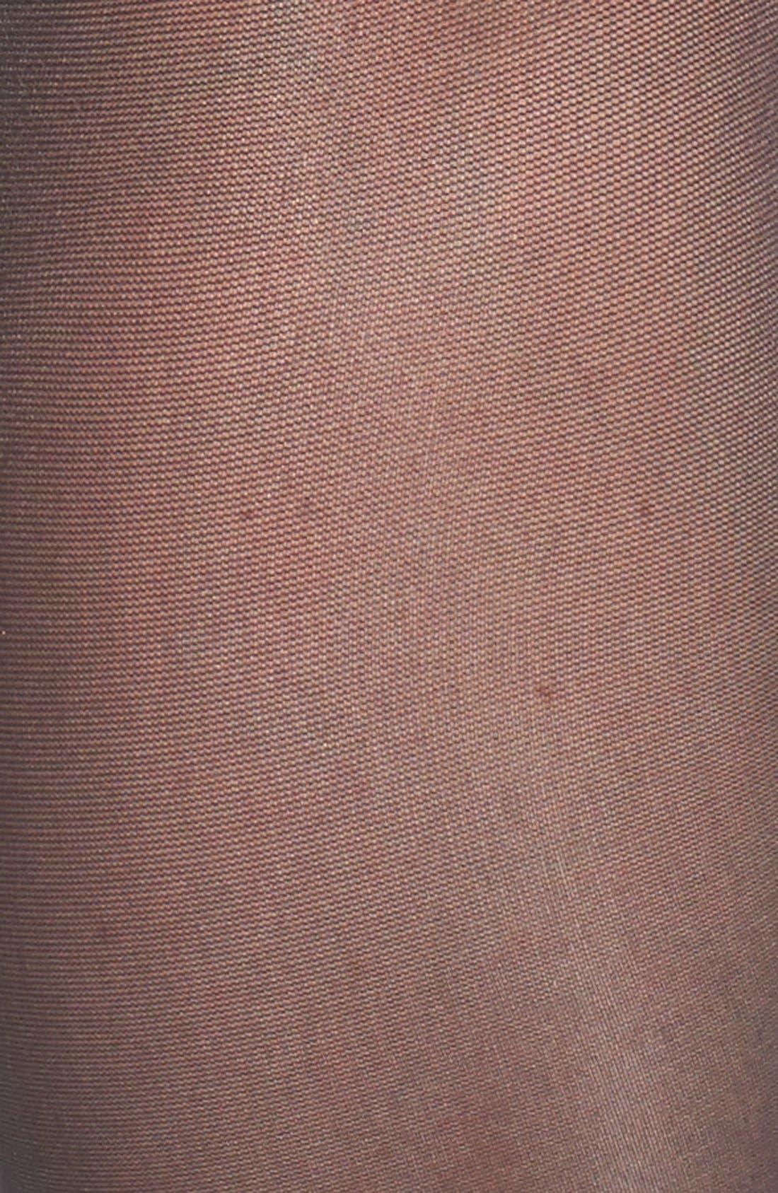 Sheer Stockings,                             Alternate thumbnail 2, color,                             BLACK