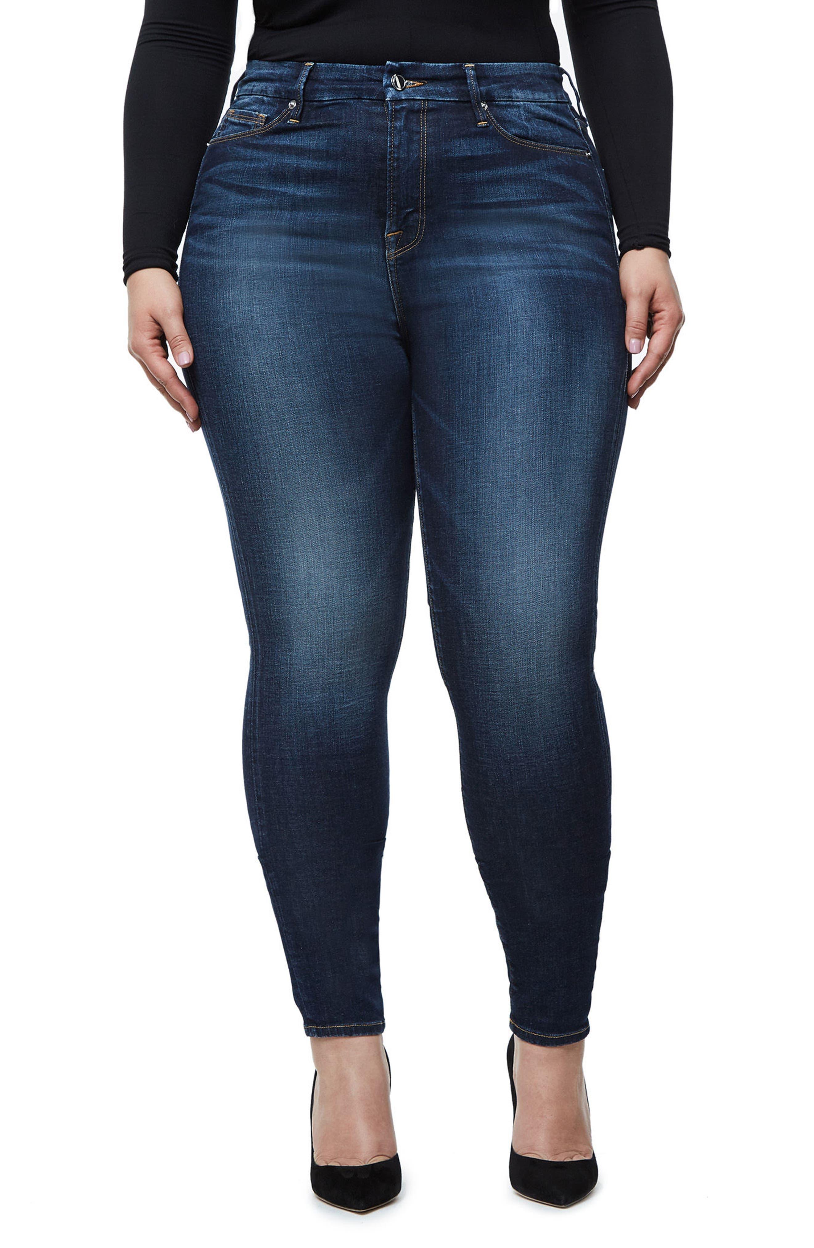 Good Waist High Waist Skinny Jeans,                             Main thumbnail 3, color,