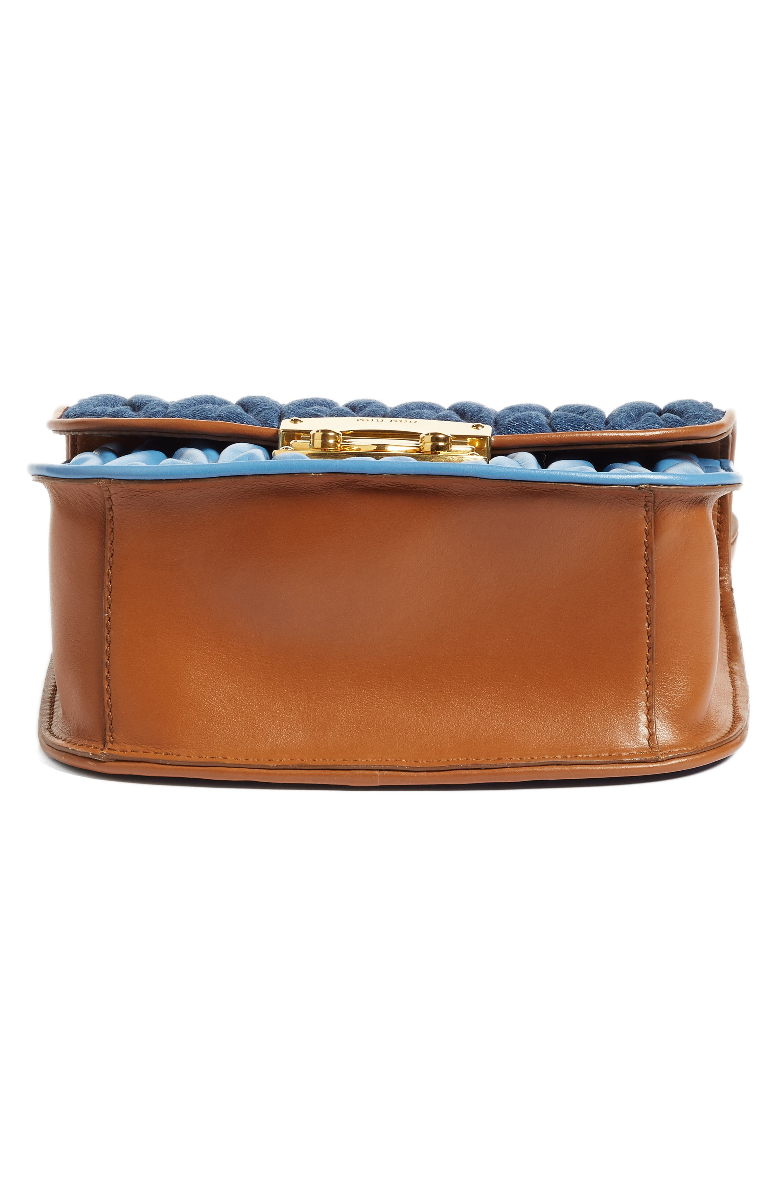 Matelassé Crossbody Bag,                             Alternate thumbnail 7, color,                             901