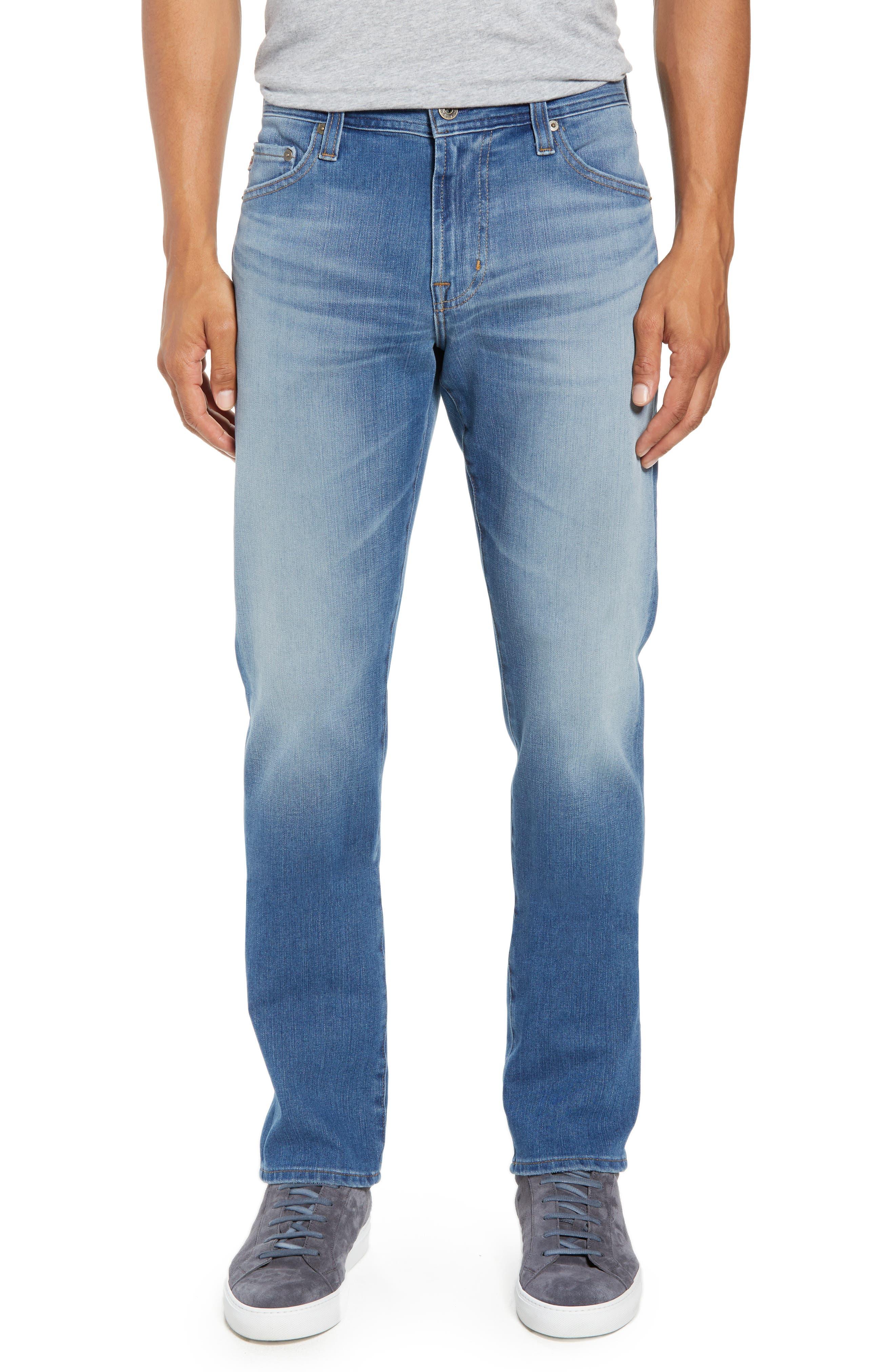 Everett Slim Straight Leg Jeans,                         Main,                         color, 487