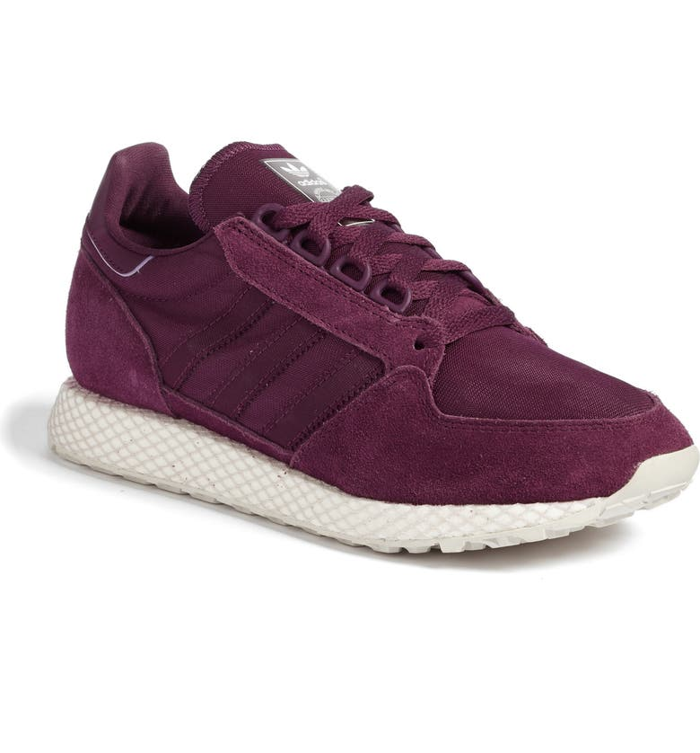 info for 64d27 299f5 ADIDAS Forest Grove Sneaker, Main, color, RED NIGHT CLOUD WHITE GREY