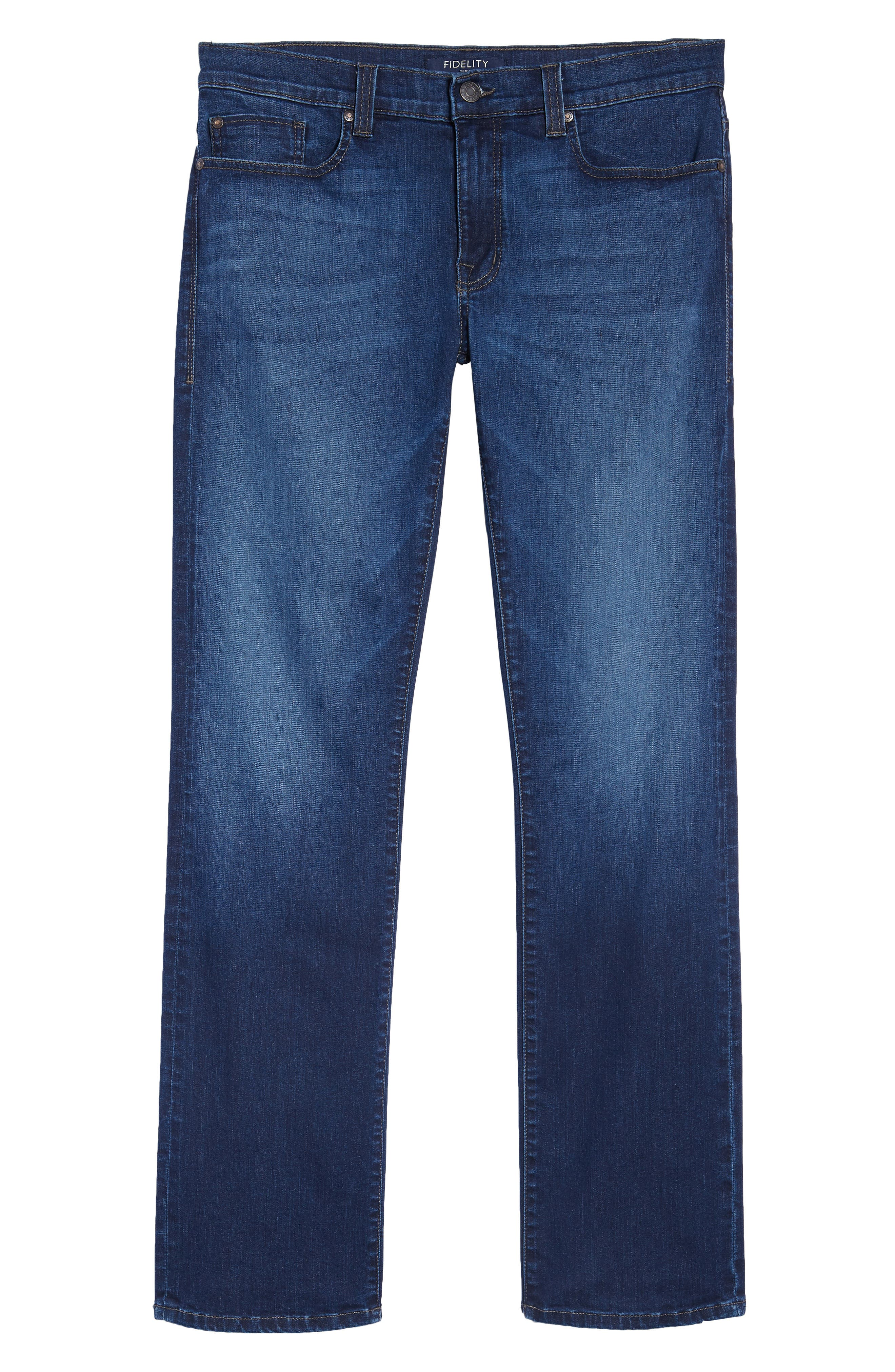 50-11 Relaxed Fit Jeans,                             Alternate thumbnail 6, color,                             CORNELL BLUE