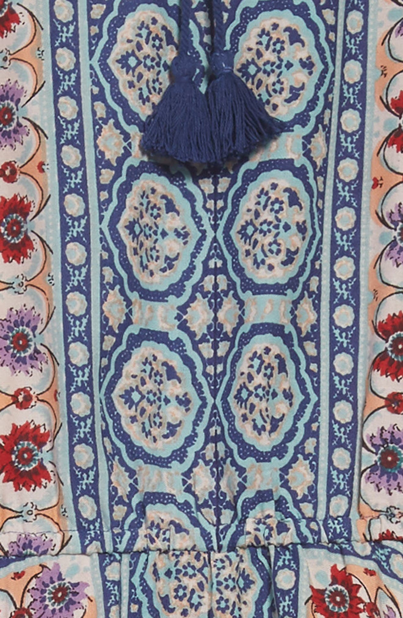 Handkerchief Hem Dress,                             Alternate thumbnail 3, color,                             421